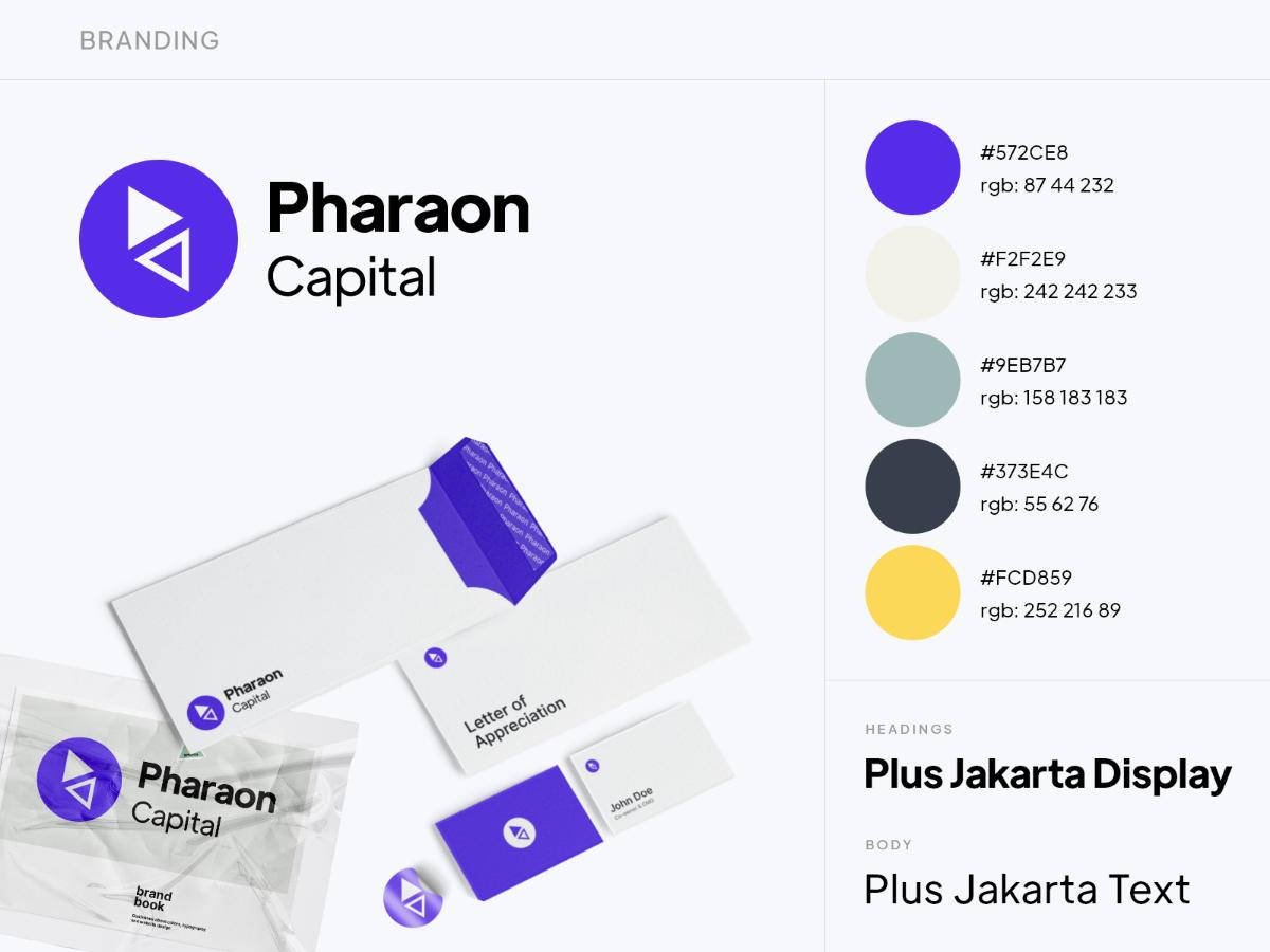 Pharaon capital branding