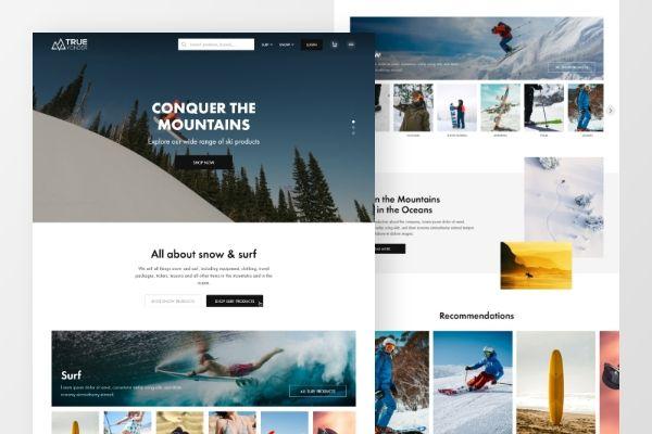 Snow & surf ecomm
