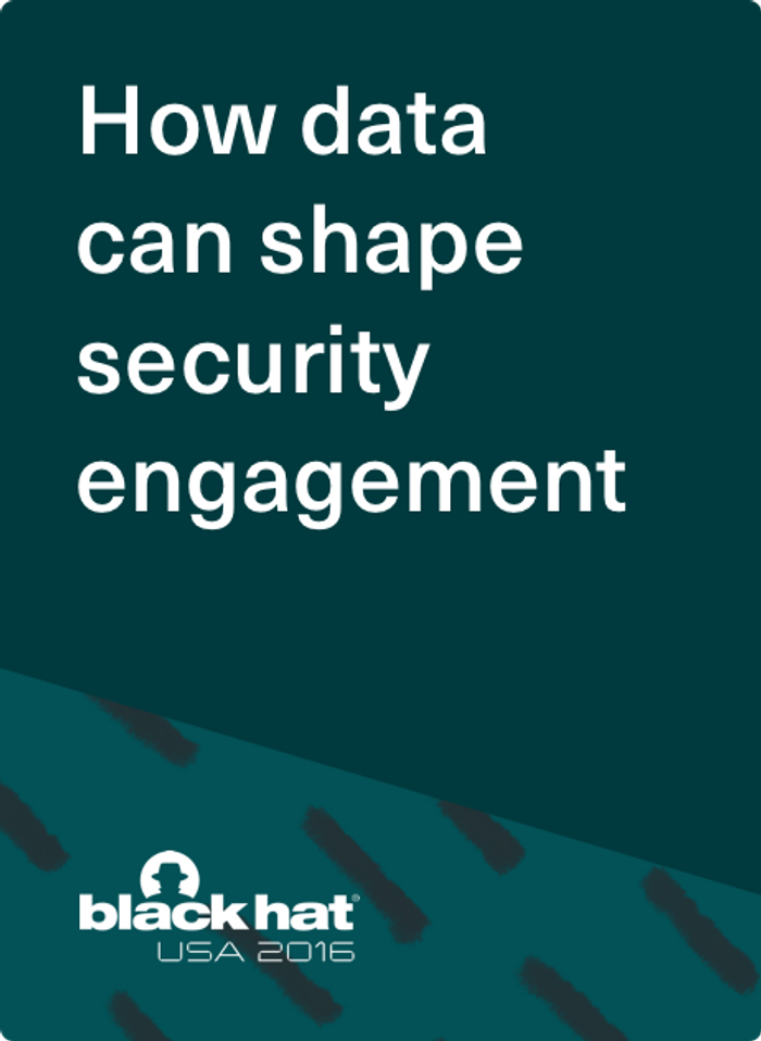 It's Not What You Know, It's What You Do: How Data Can Shape Security Engagement
