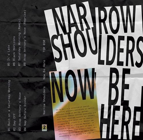 """Narrow Shoulders – """"Be Here Now"""""""