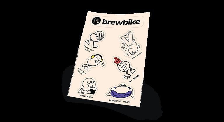 Bean Stickers