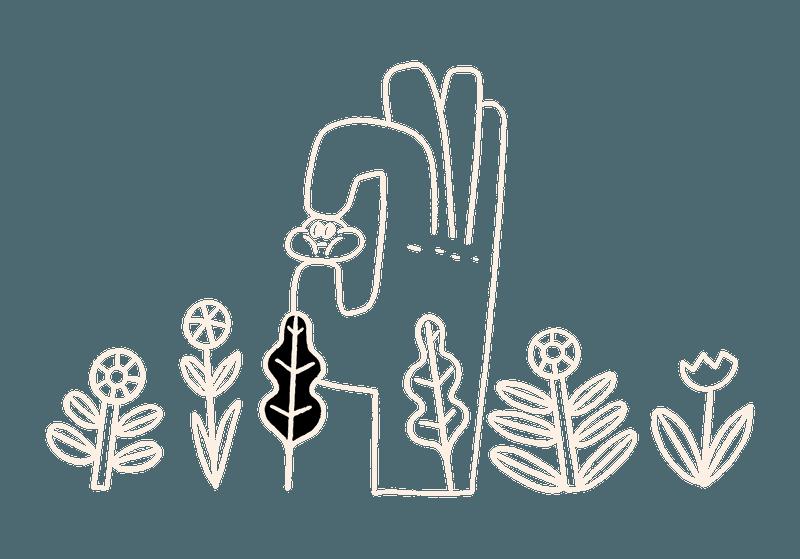 Footer Illustration