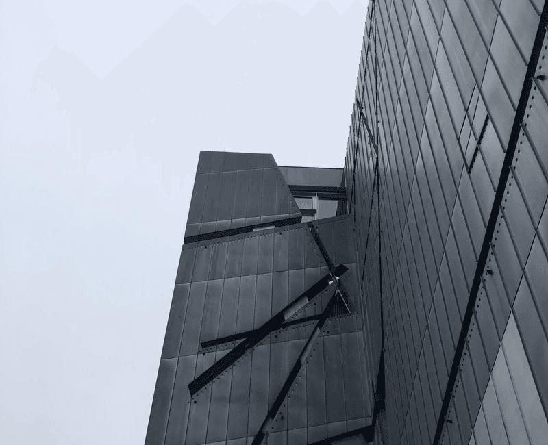 Außenansicht des Jüdischen Museums Berlin
