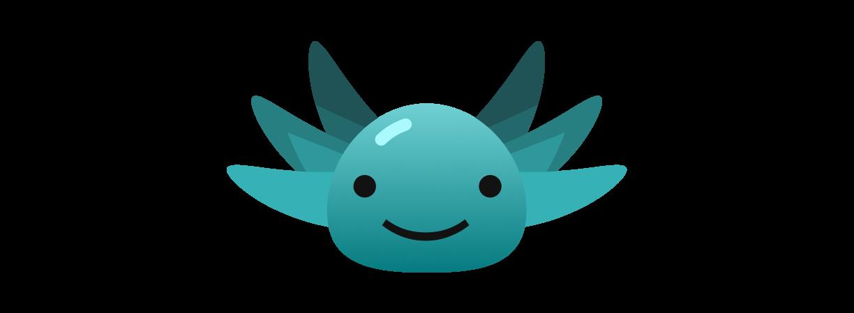 Lottie the axolotl