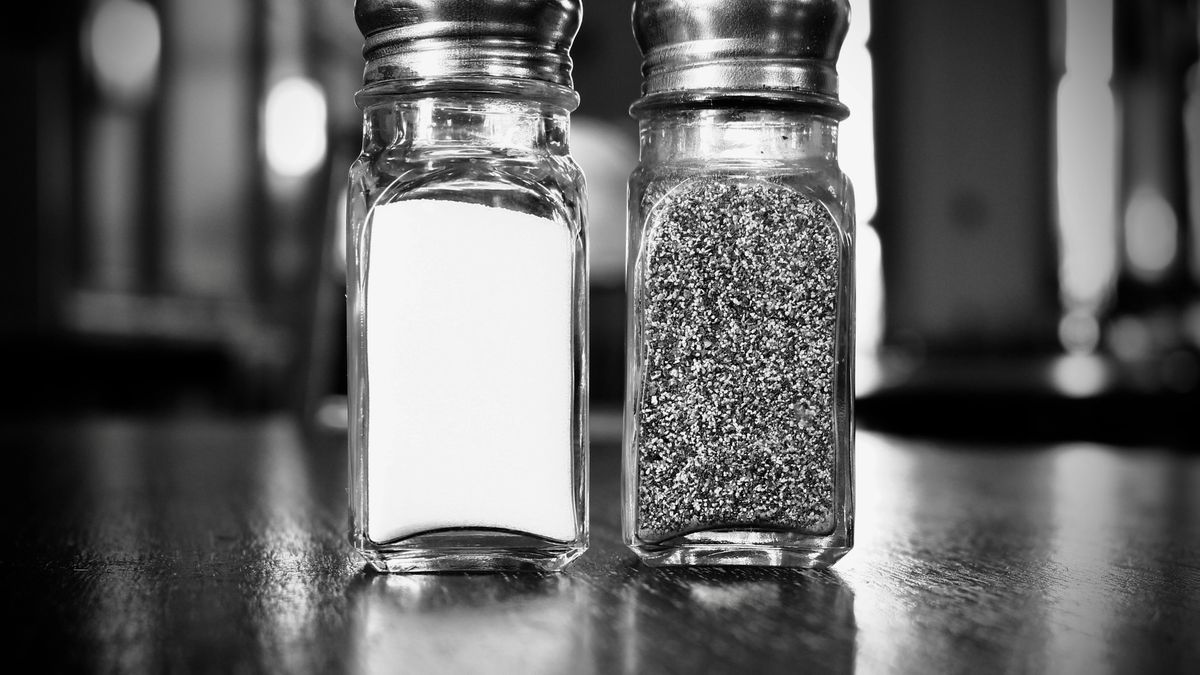 salt and pepper shakers contrast authentication and authorization