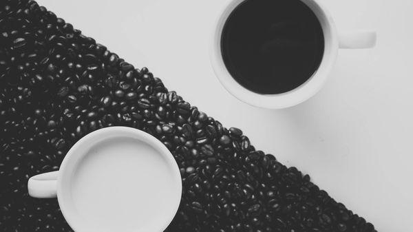 black and white coffee mugs