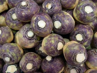 Mange kålrot-frukter
