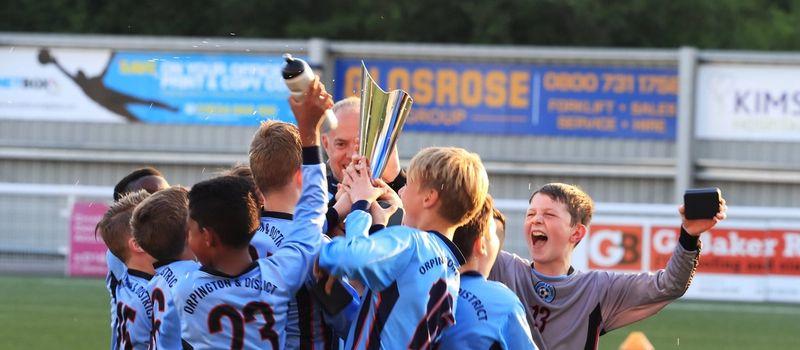 Photo of team celebrating