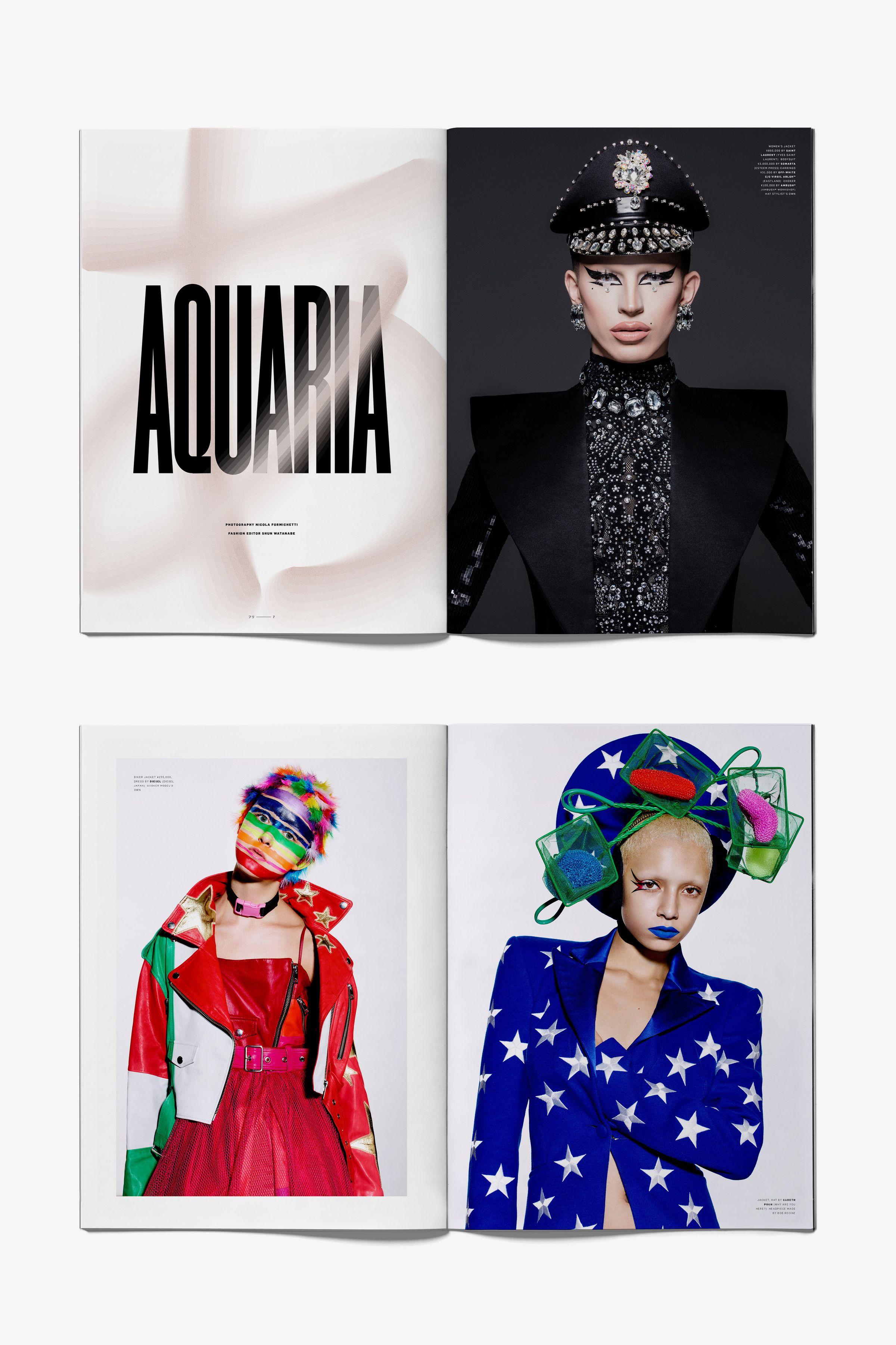 Free Magazine spread layout designs