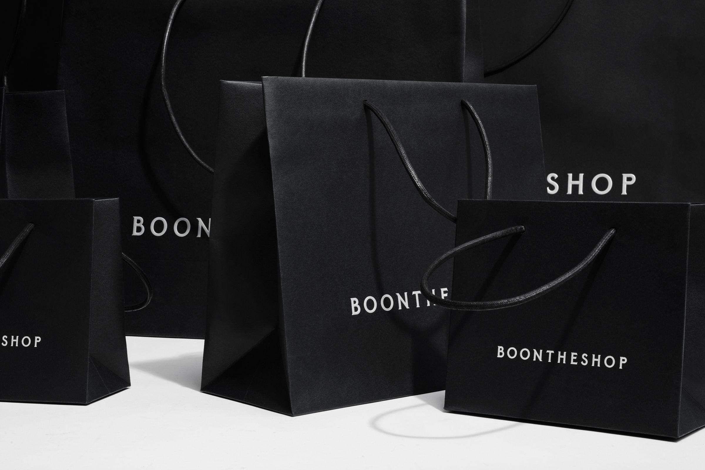 BOONTHESHOP shopping bag design