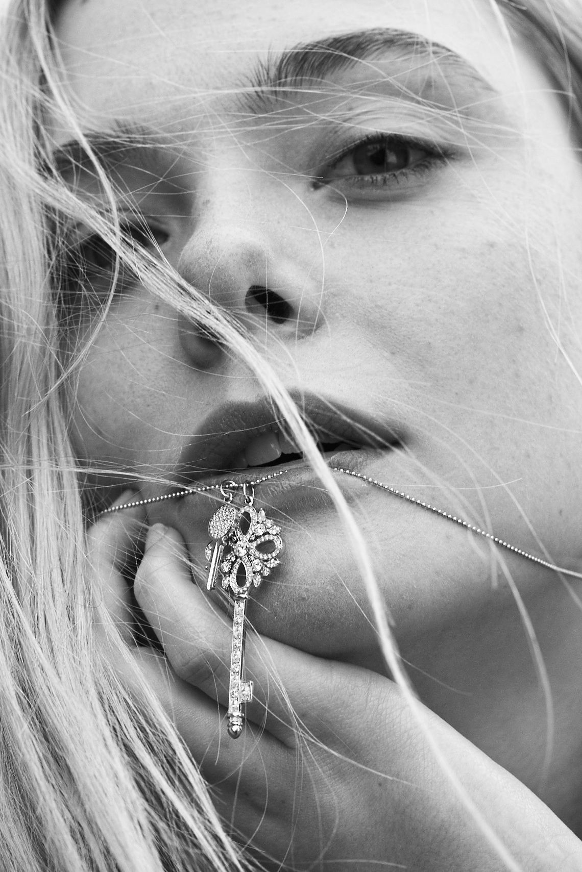 This is Tiffany issue 7 Elle Fanning photographed by Cass Bird