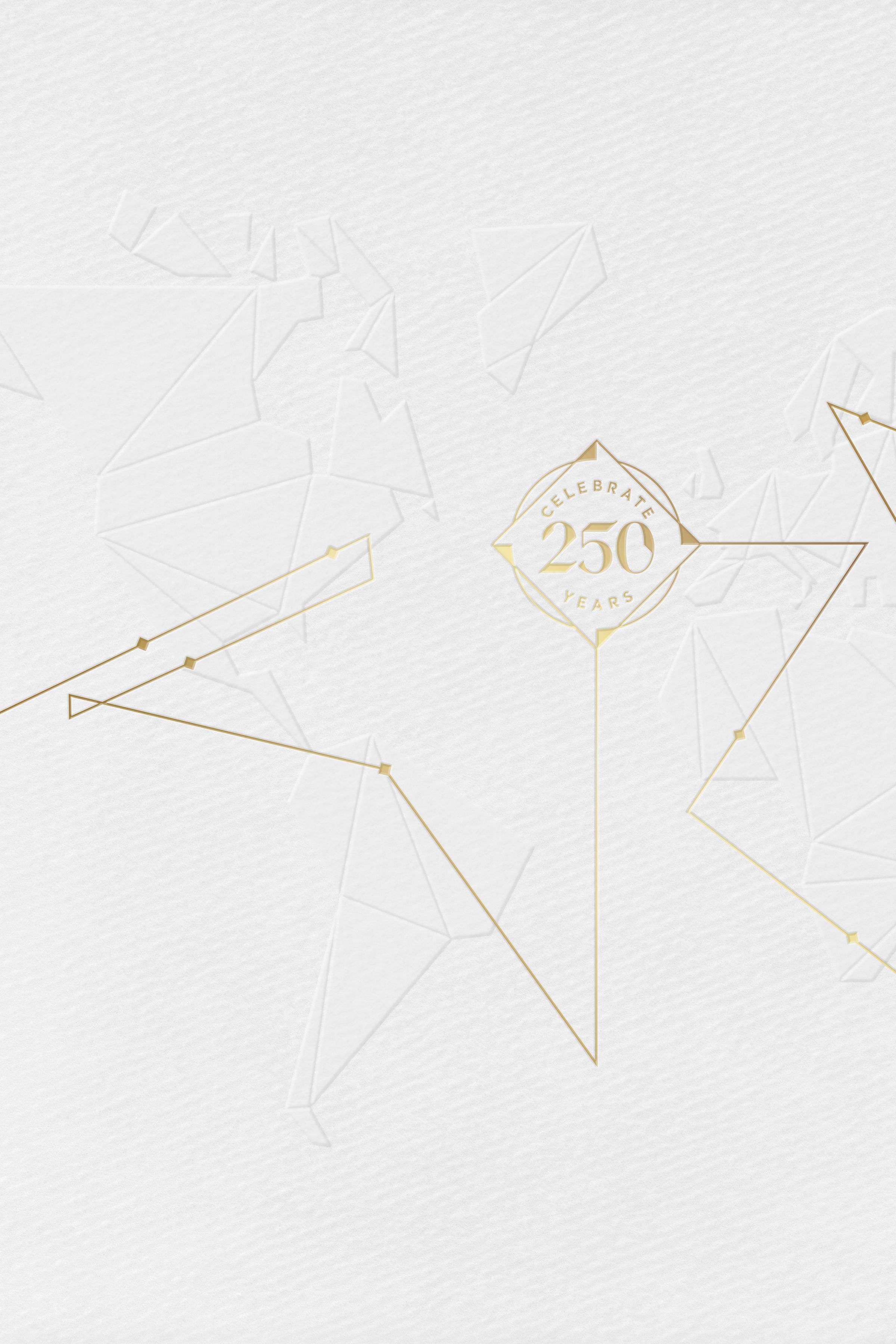 Hennessy 250 anniversary collector's blend map design