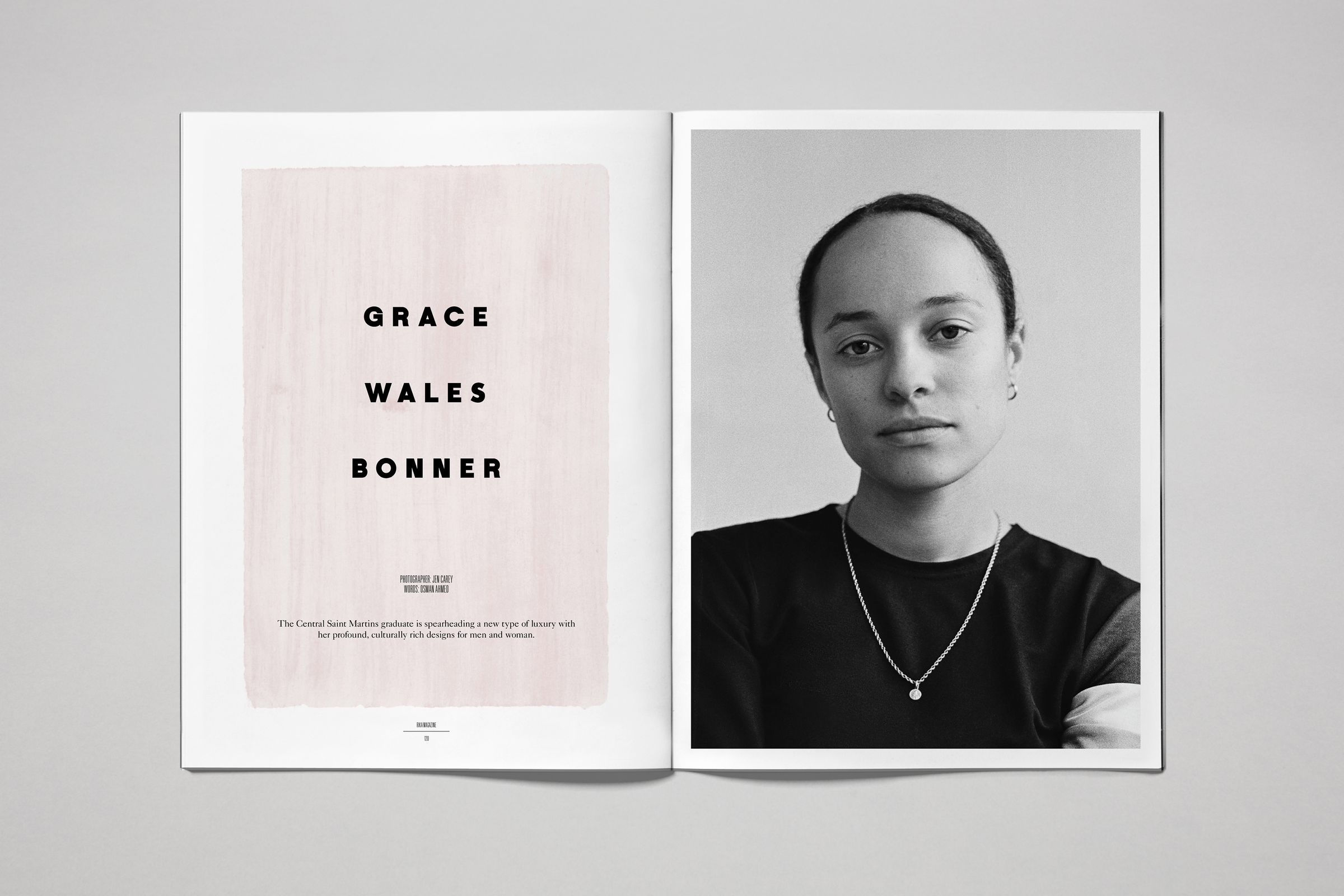 Rika Magazine issue no. 16 Grace Wales Bonner