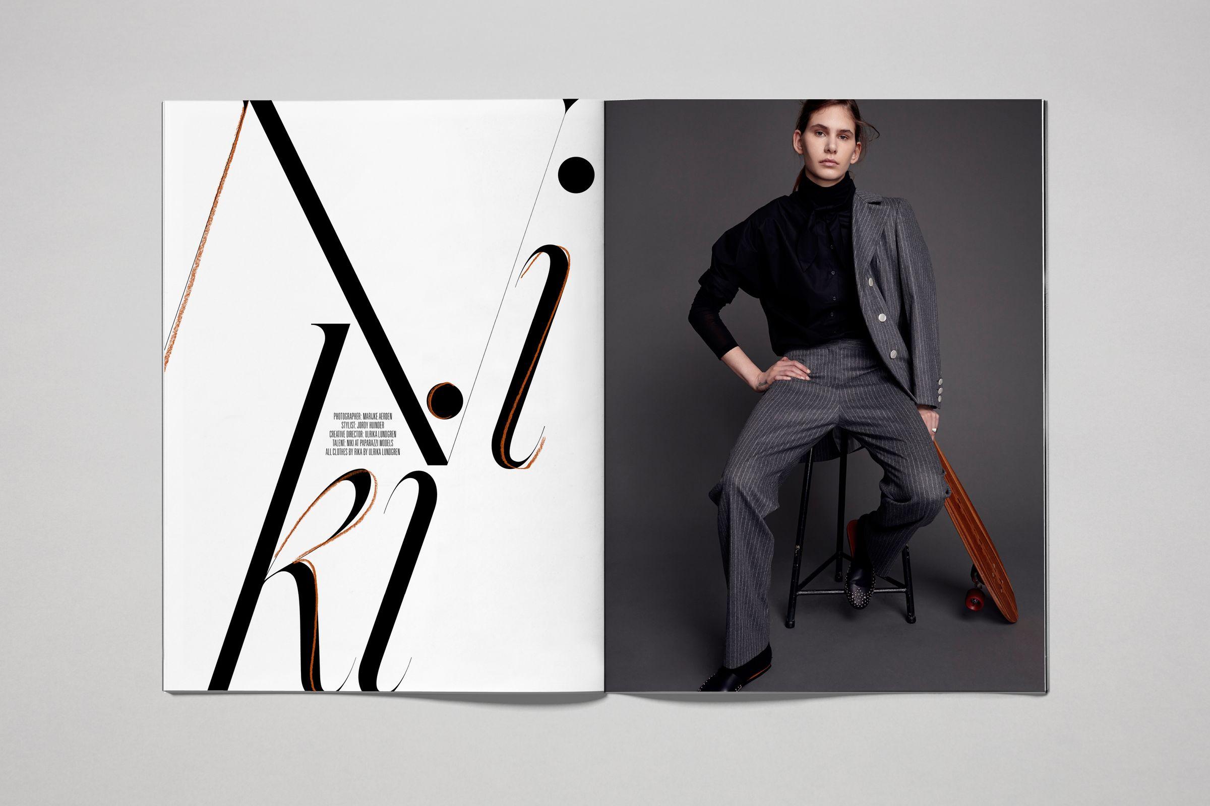 Rika Magazine issue no. 13 Niki photographed by Marijke Aerden