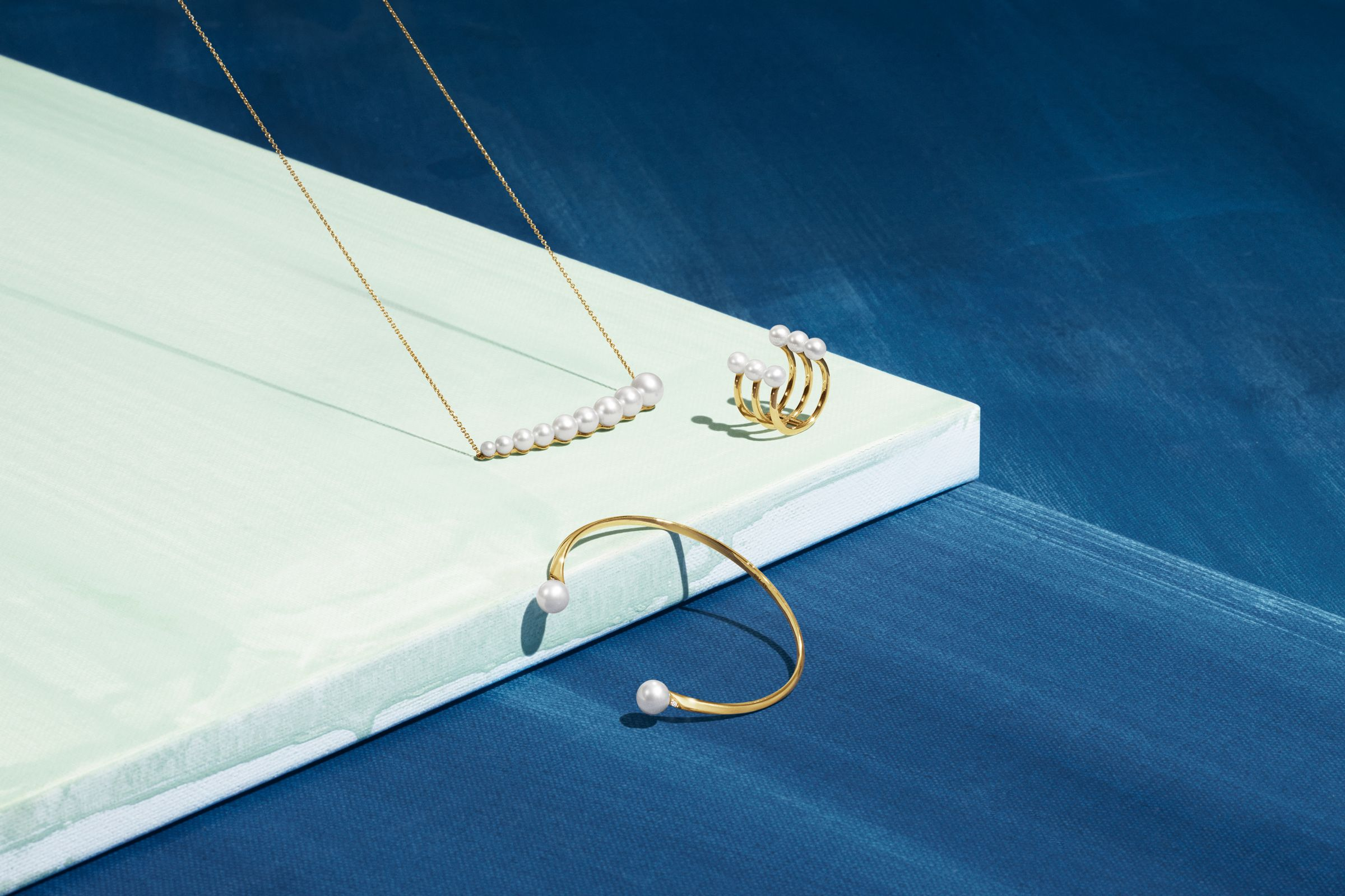 Georg Jensen still life jewelry photography for campaign