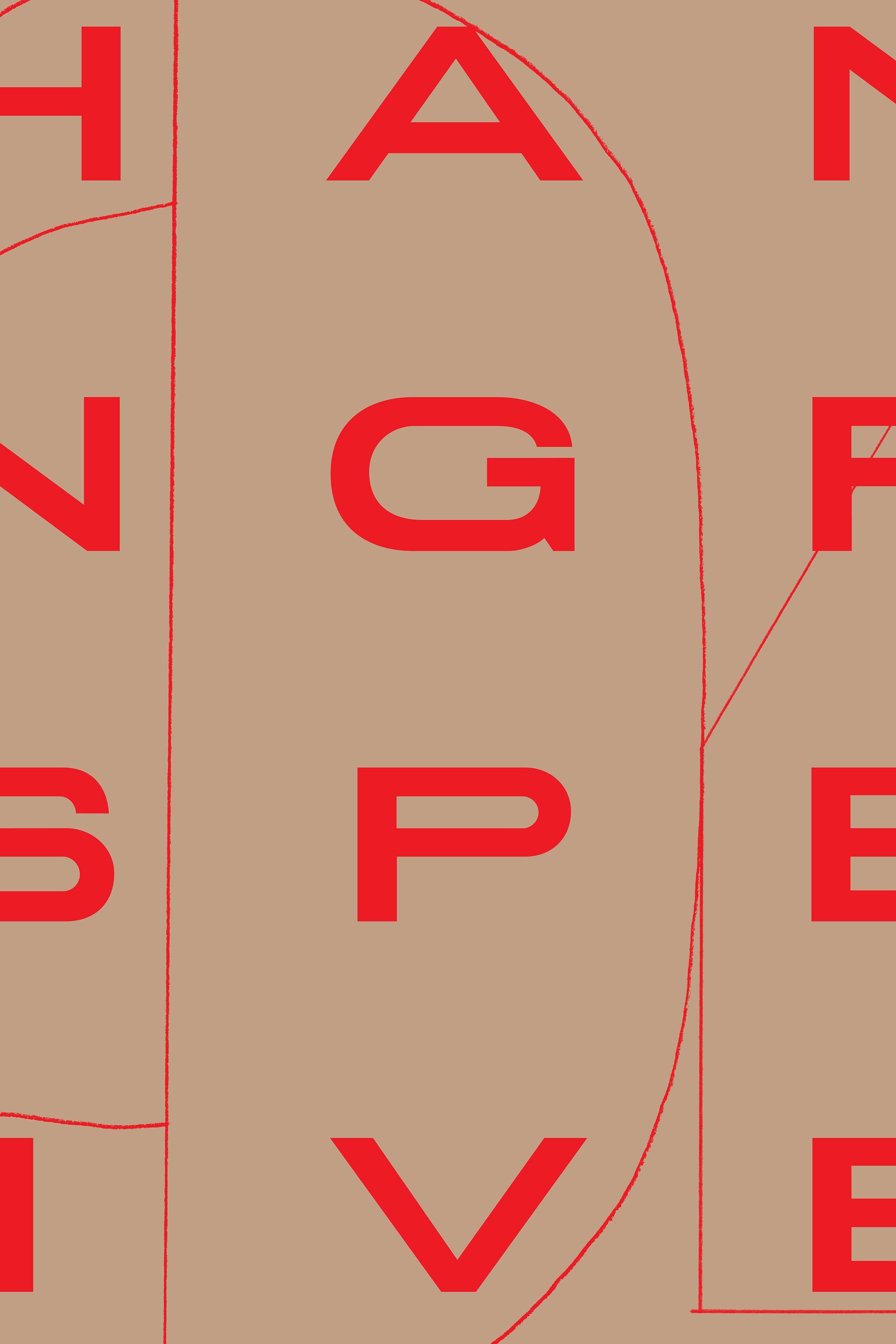Rika Magazine issue no. 18 custom typeface design