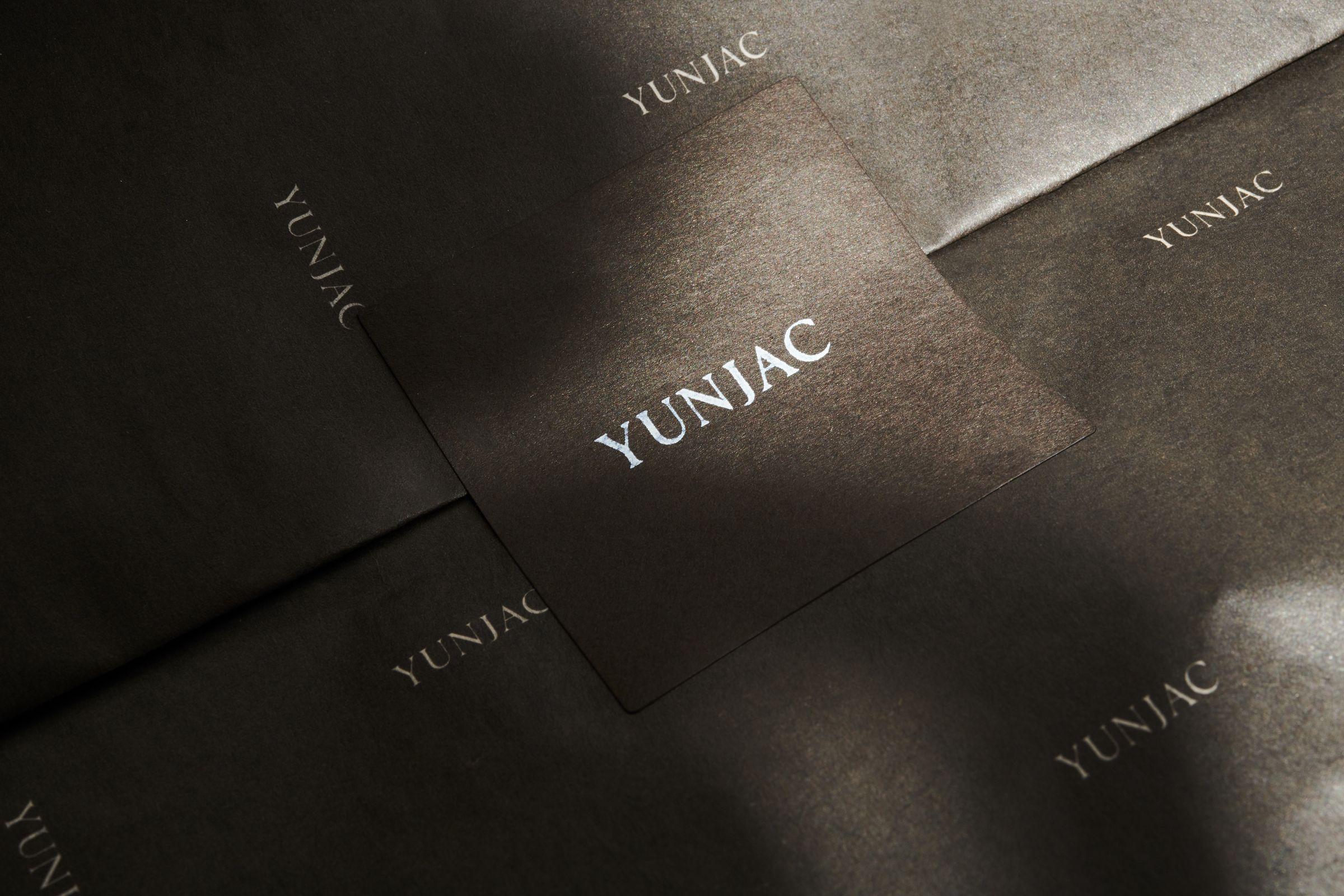Yunjac logo on packaging