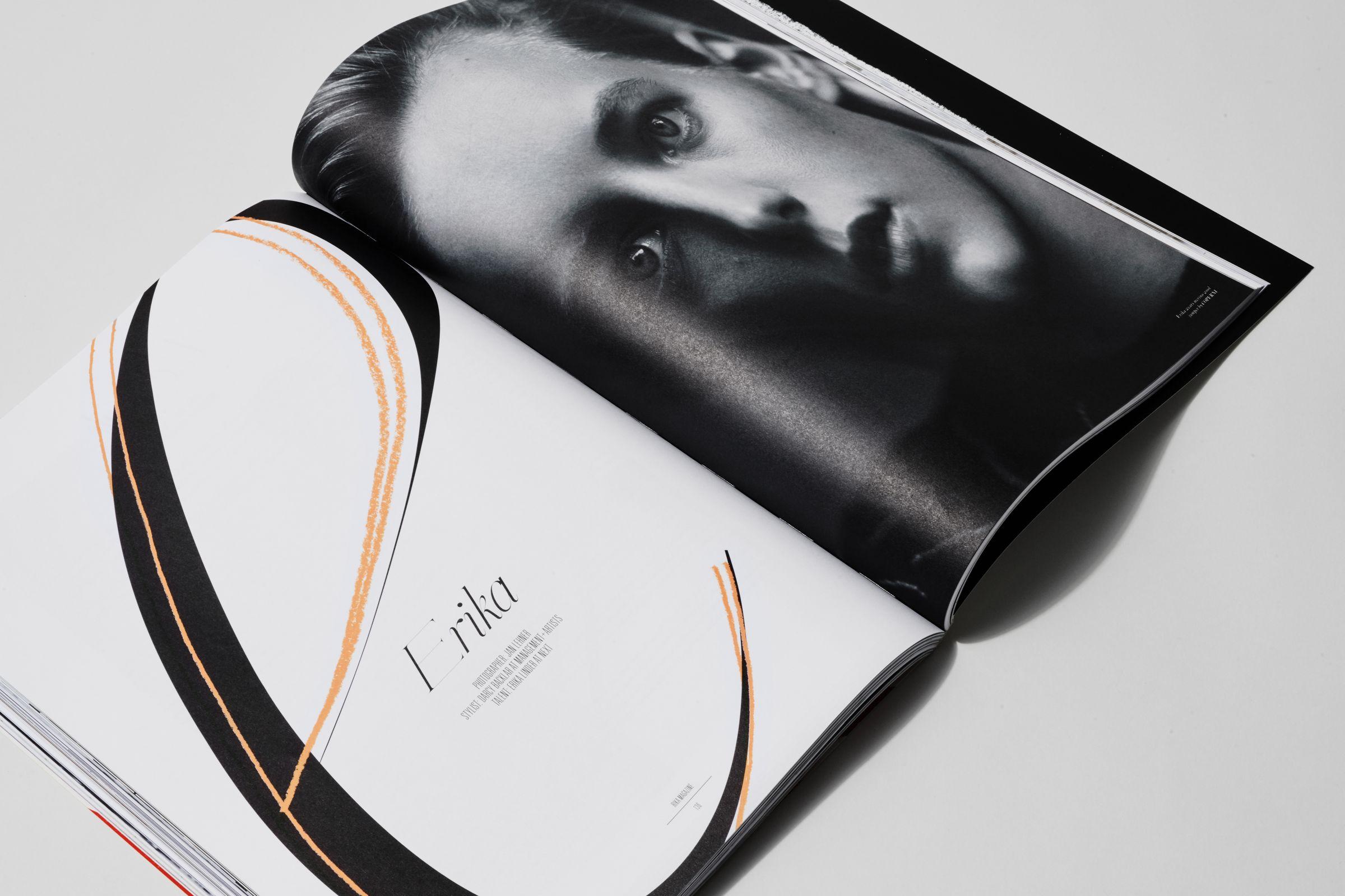 Rika Magazine issue no. 13 Erika Linder photographed by Jan Lehner