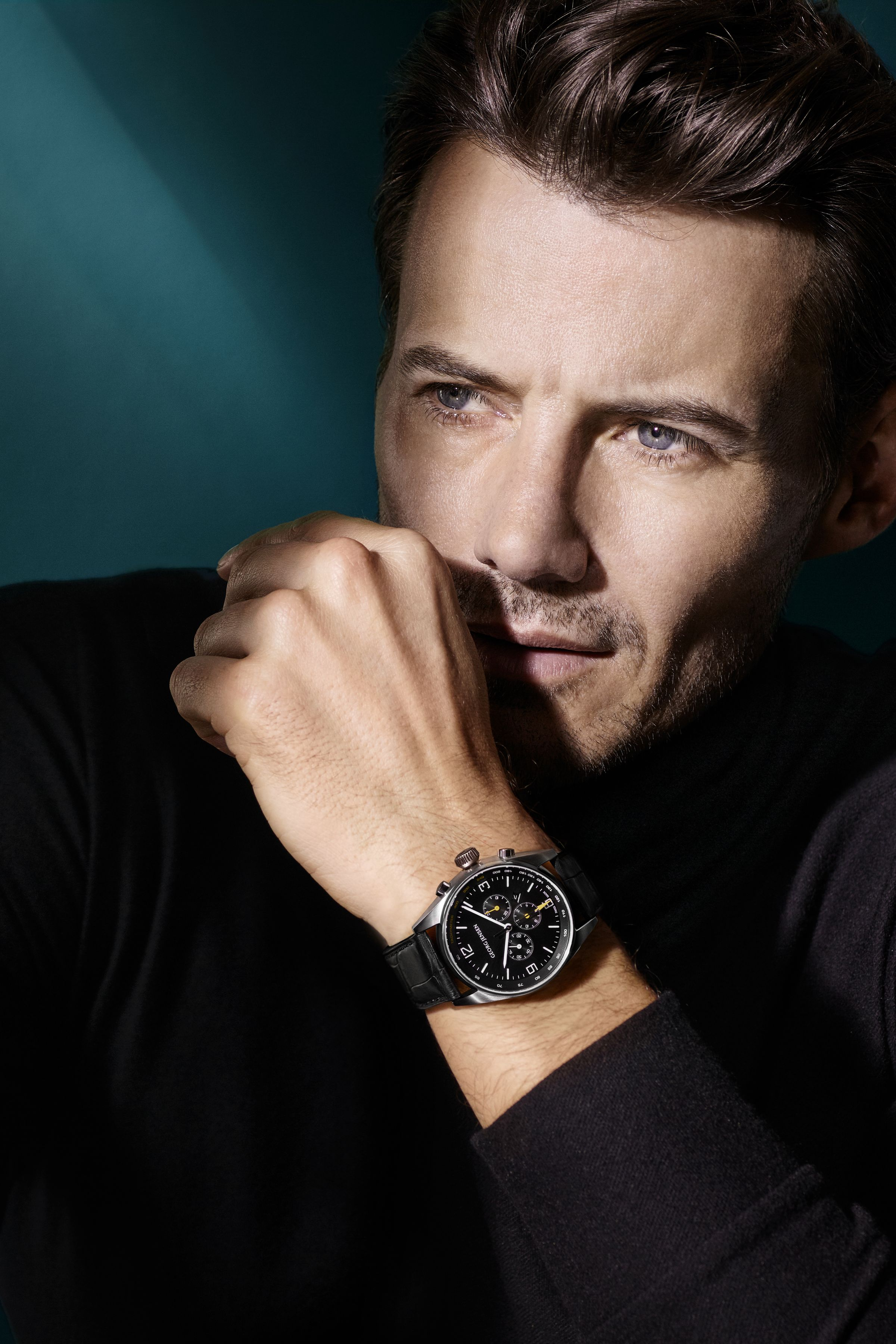 Georg Jensen men's watches campaign photography