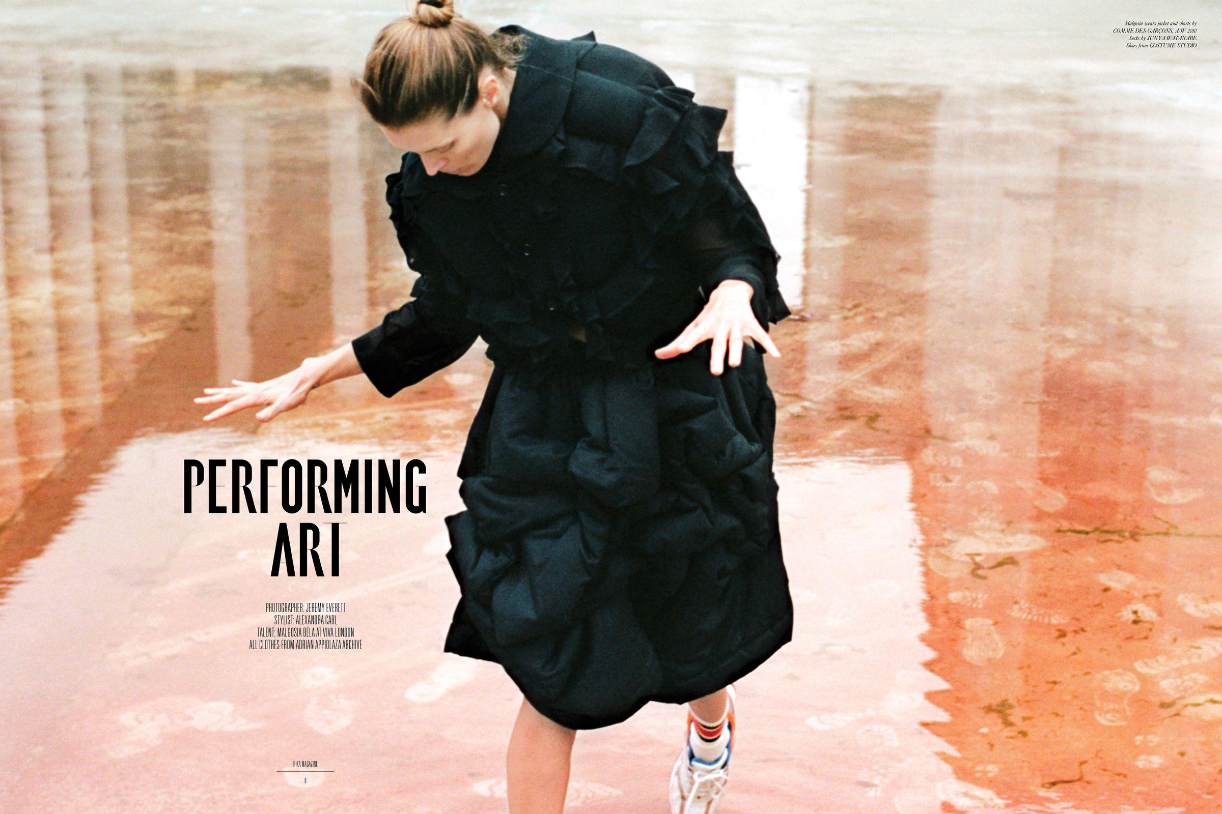 Rika Magazine issue no. 19 Malgosia Bela photographed by Jeremy Everett