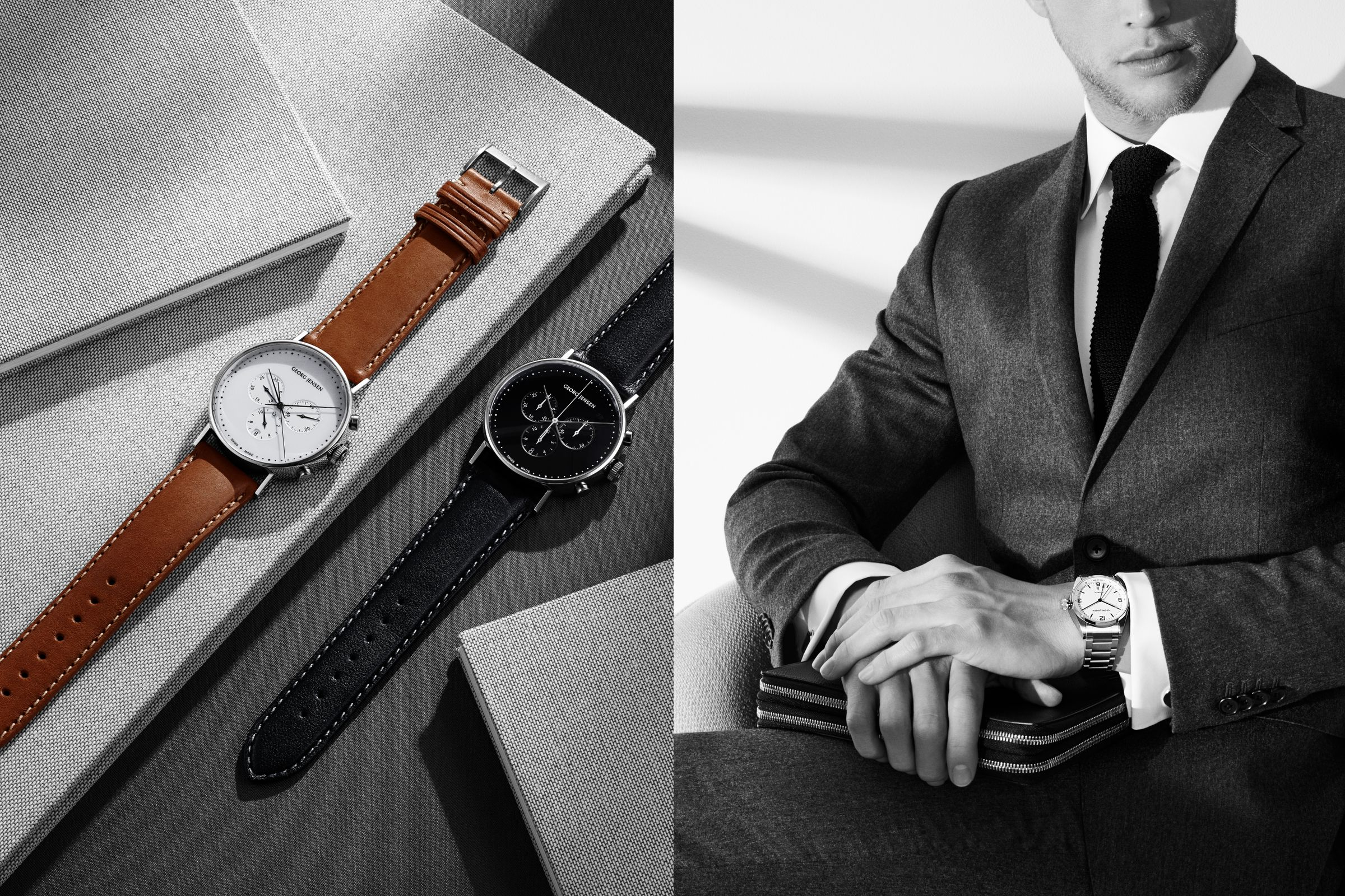 Georg Jensen watches photographed by Hasse Nielsen and Toby McFarlan Pond