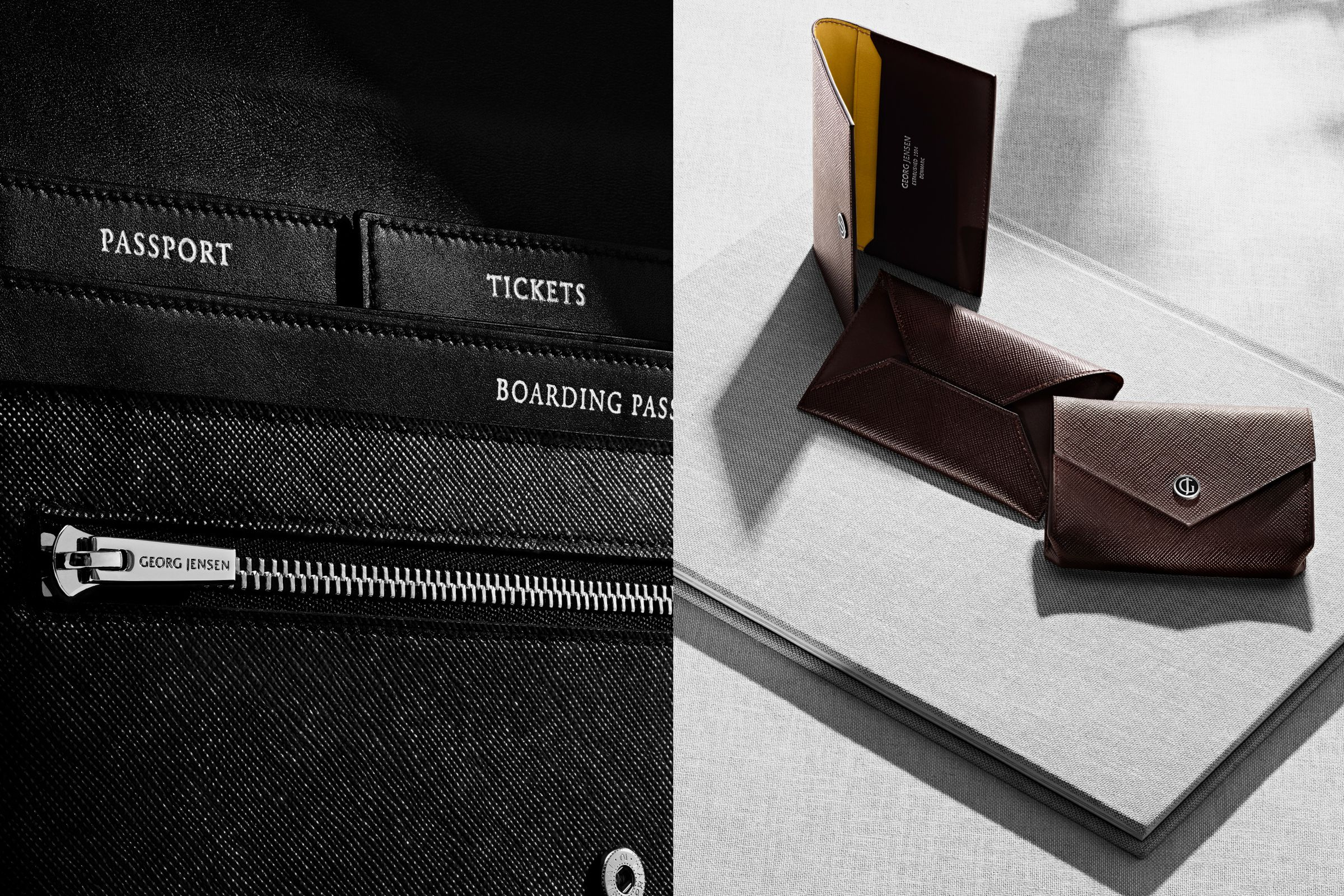 Georg Jensen small leather goods photographed by Toby McFarlan Pond
