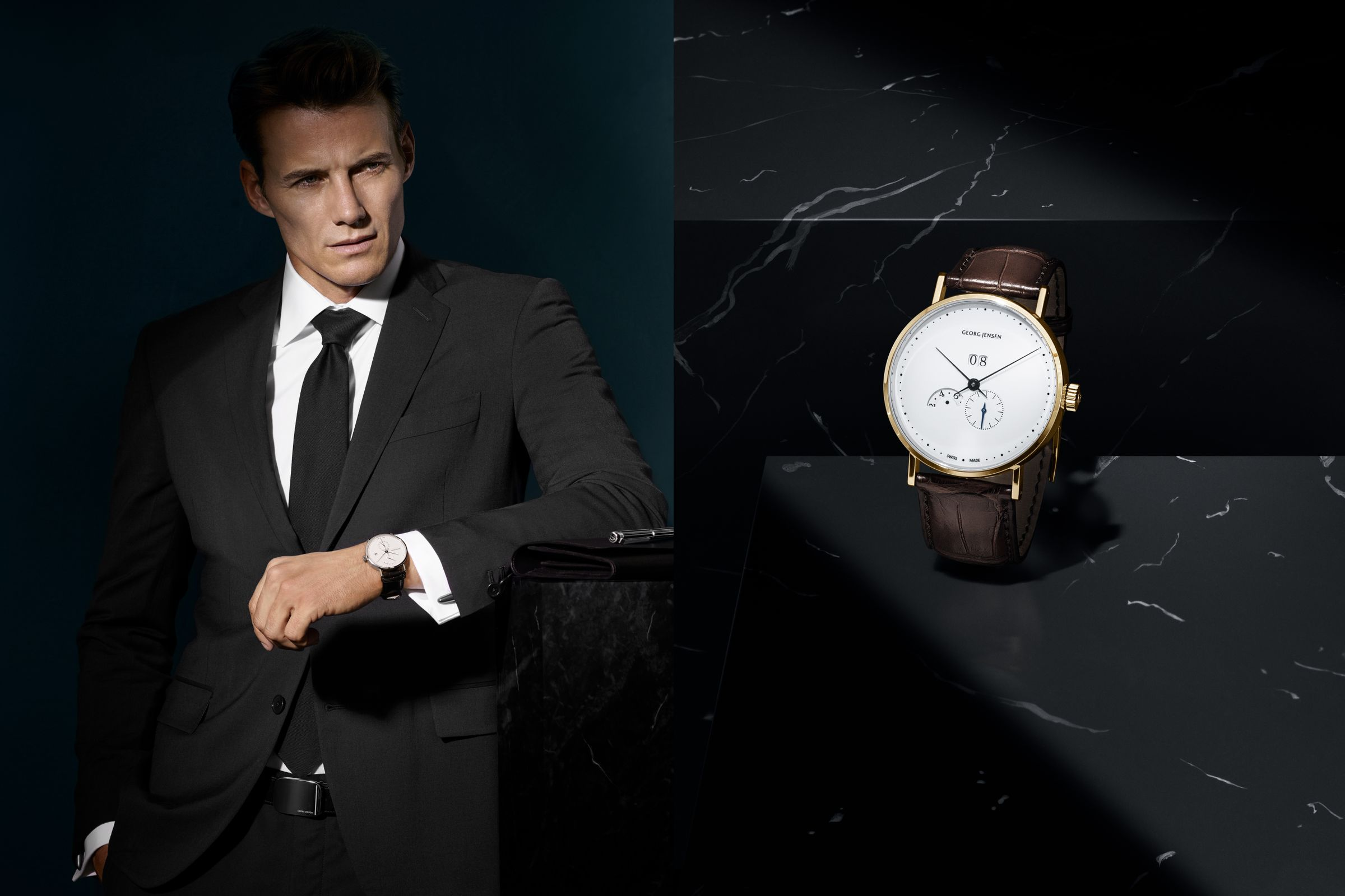 Georg Jensen men's campaign photographed by Hasse Nielsen