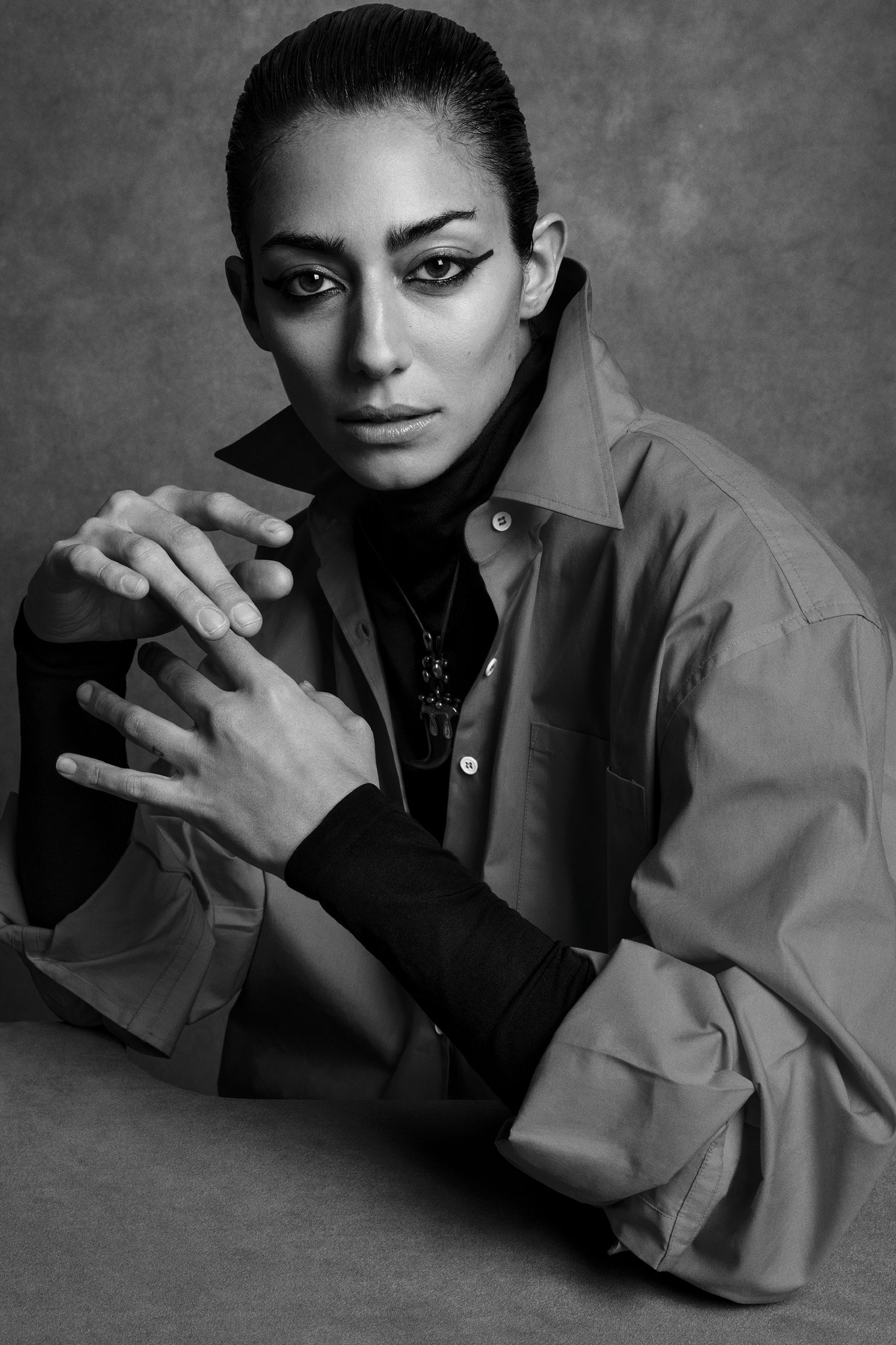Rika Magazine issue no. 19 Conie Vallese photographed by Inez & Vinoodh