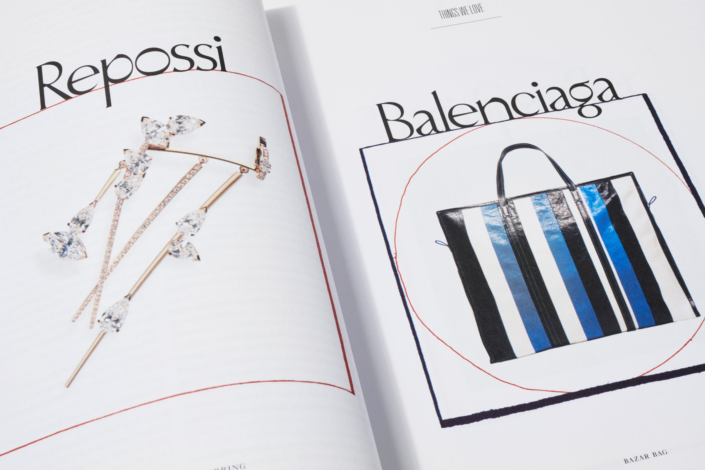 Rika Magazine issue no. 15 Things We Love: Repossi and Balenciaga