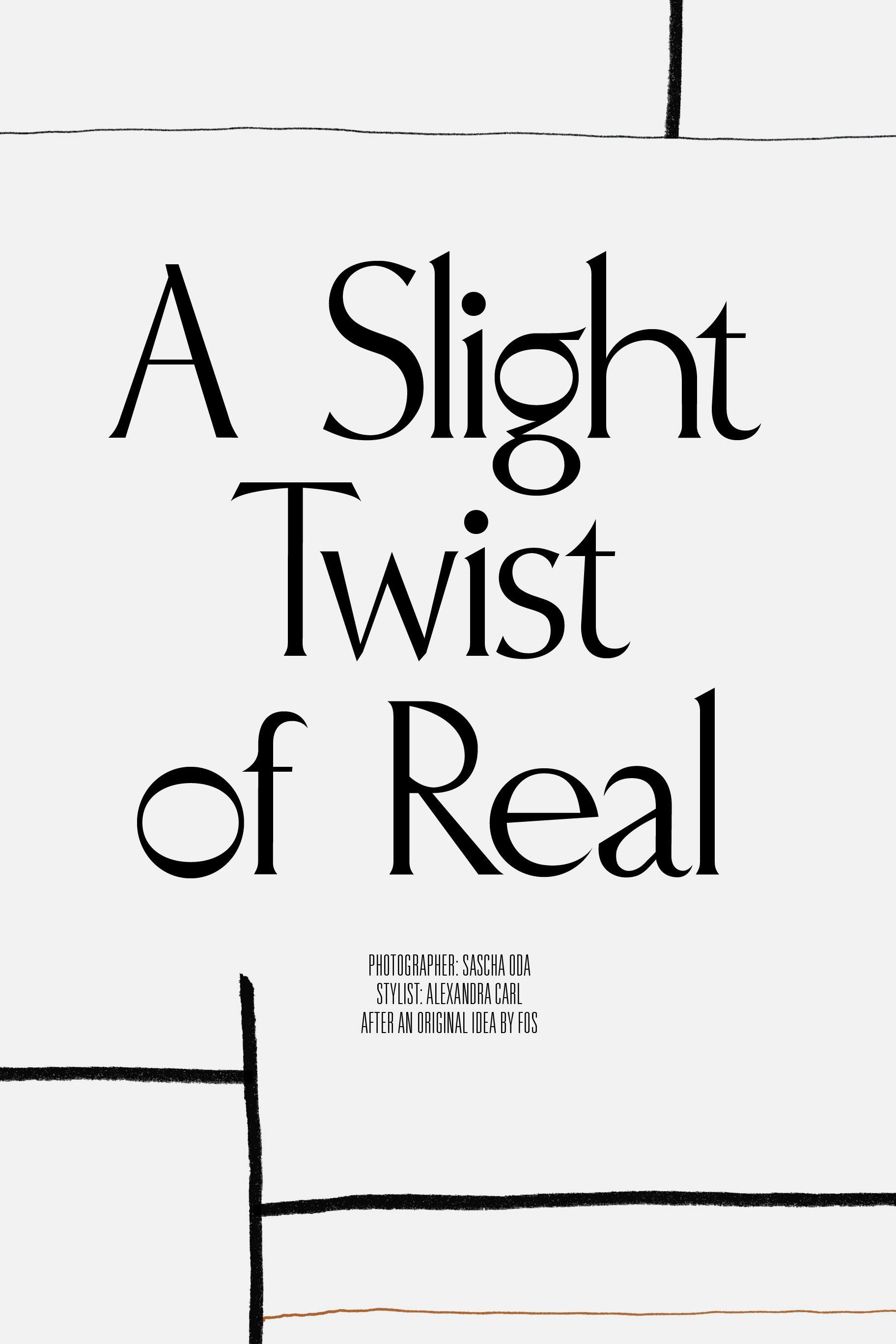 Rika Magazine issue no. 15 custom typography design