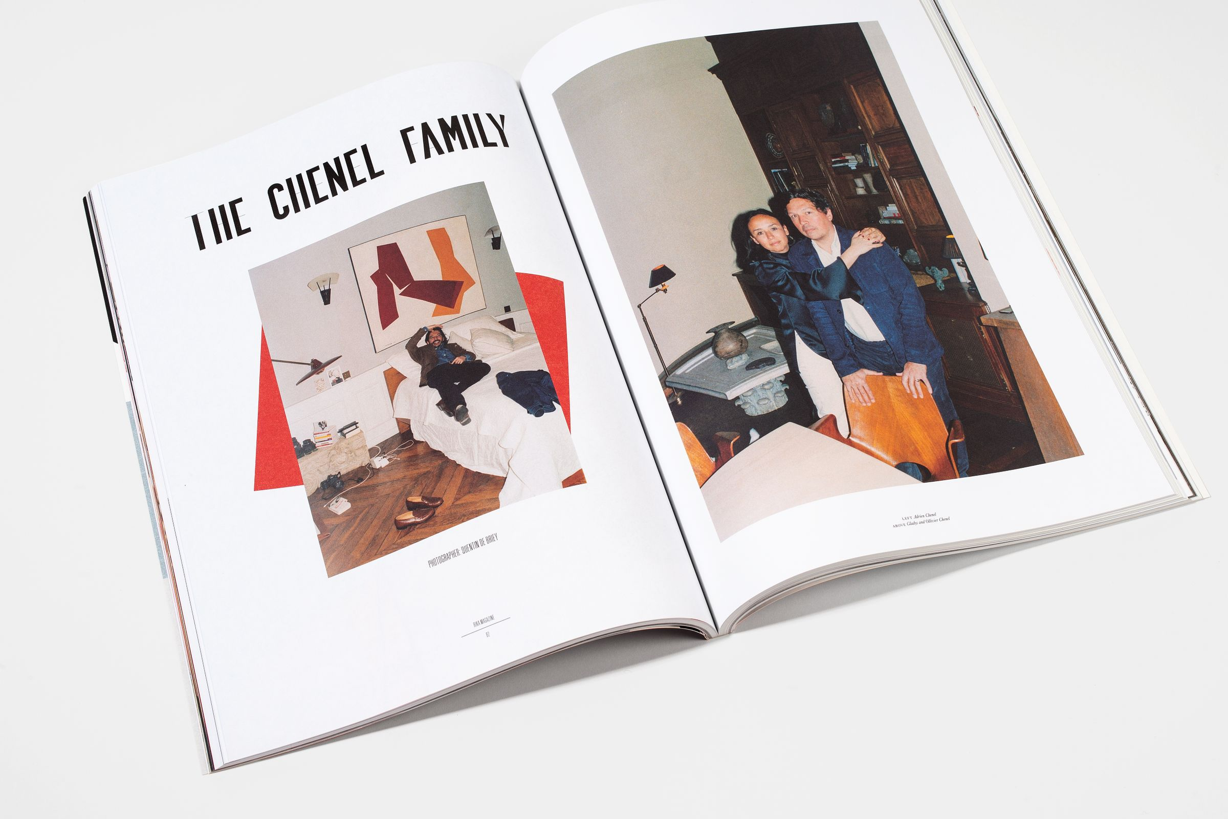 Rika Magazine issue no. 19 The Chenel Family photographed by Quentin de Briey