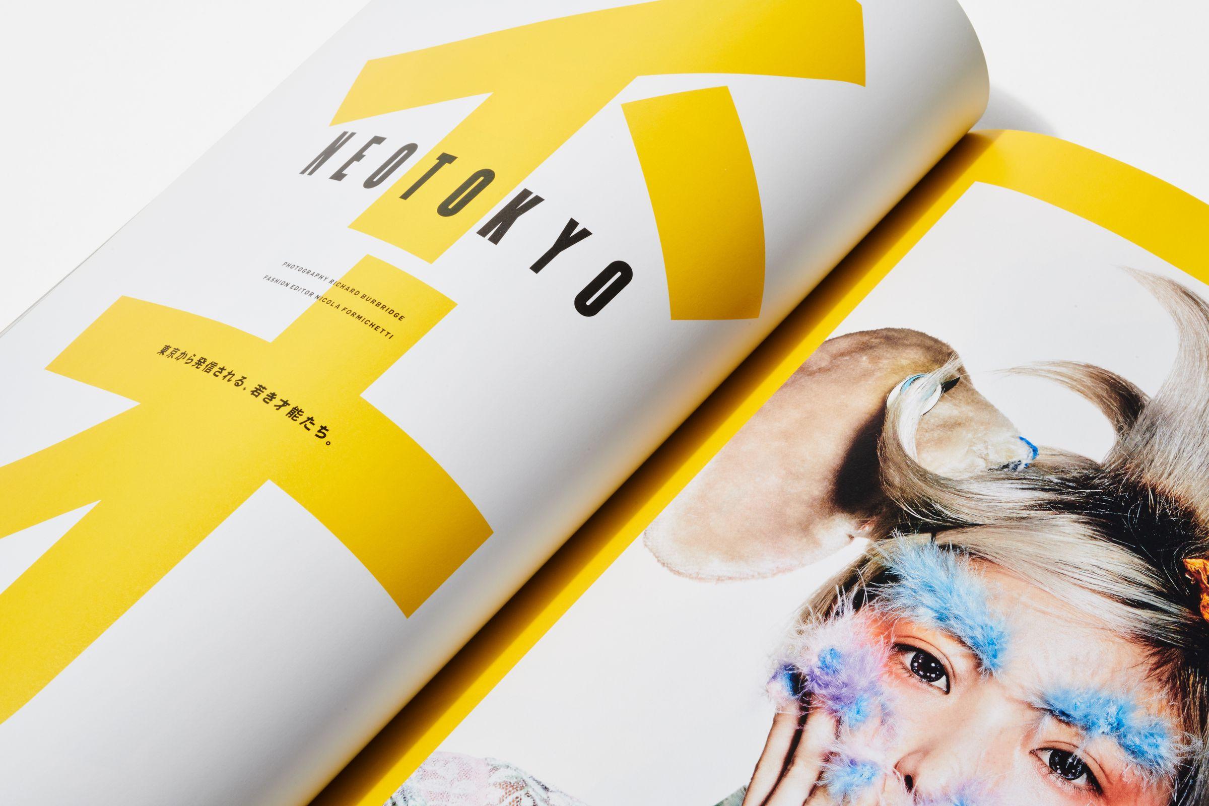 FREE Magazine spread layout