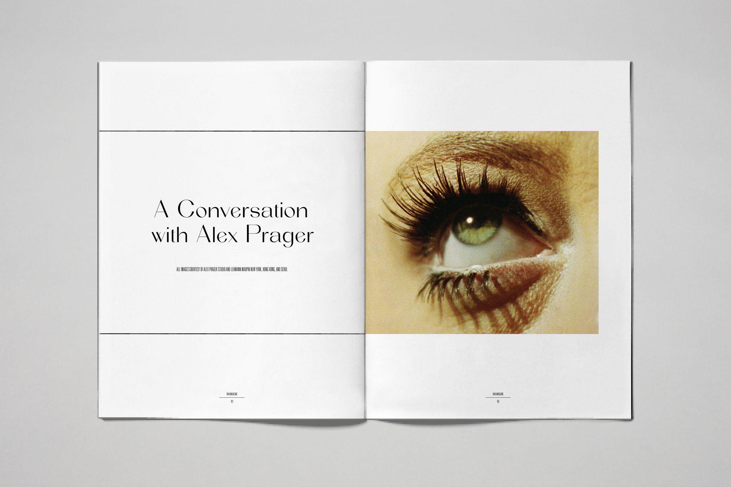 Rika Magazine issue no. 20 Alex Prager
