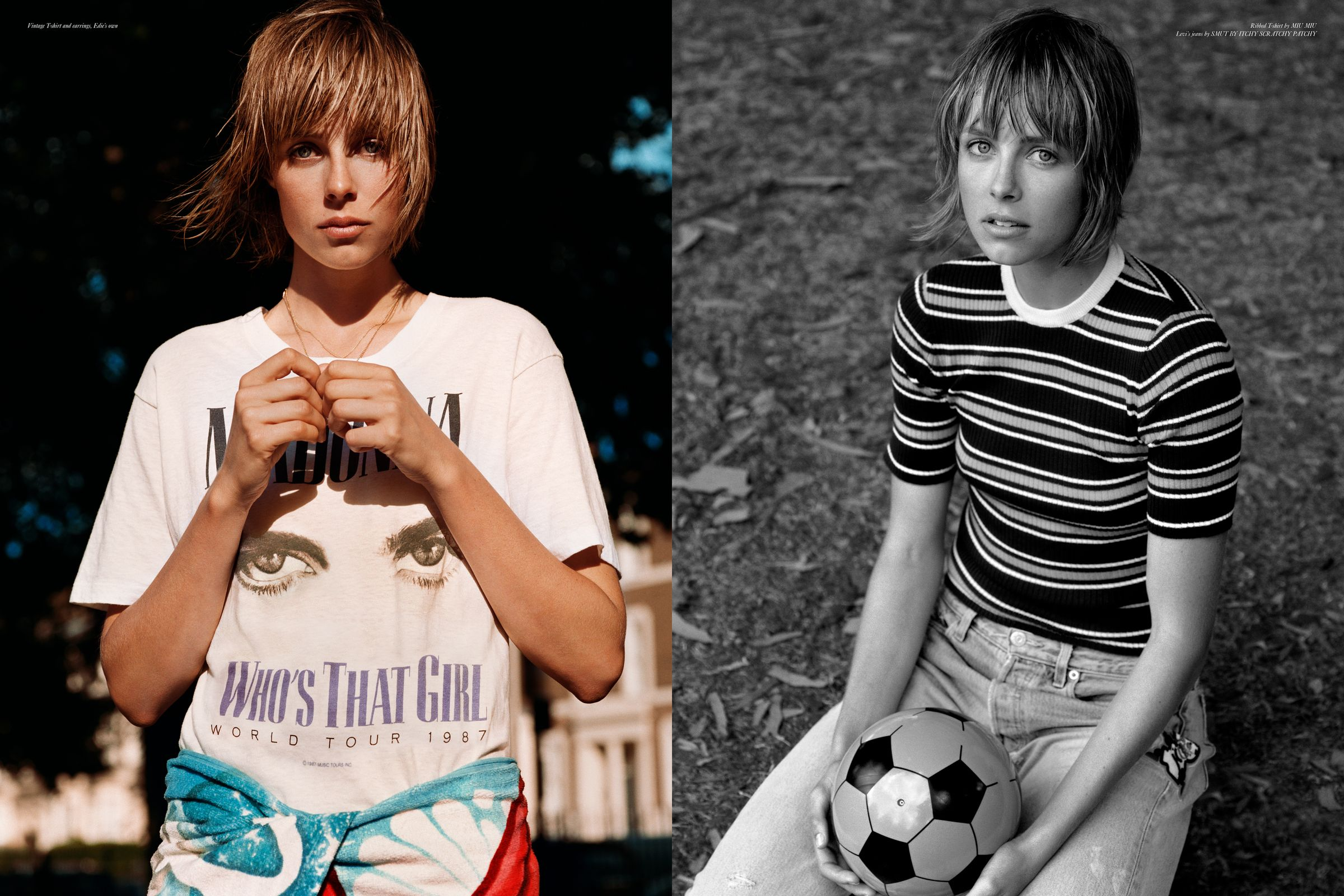 Rika Magazine issue no. 18 Edie Campbell photographed by Alasdair McLellan
