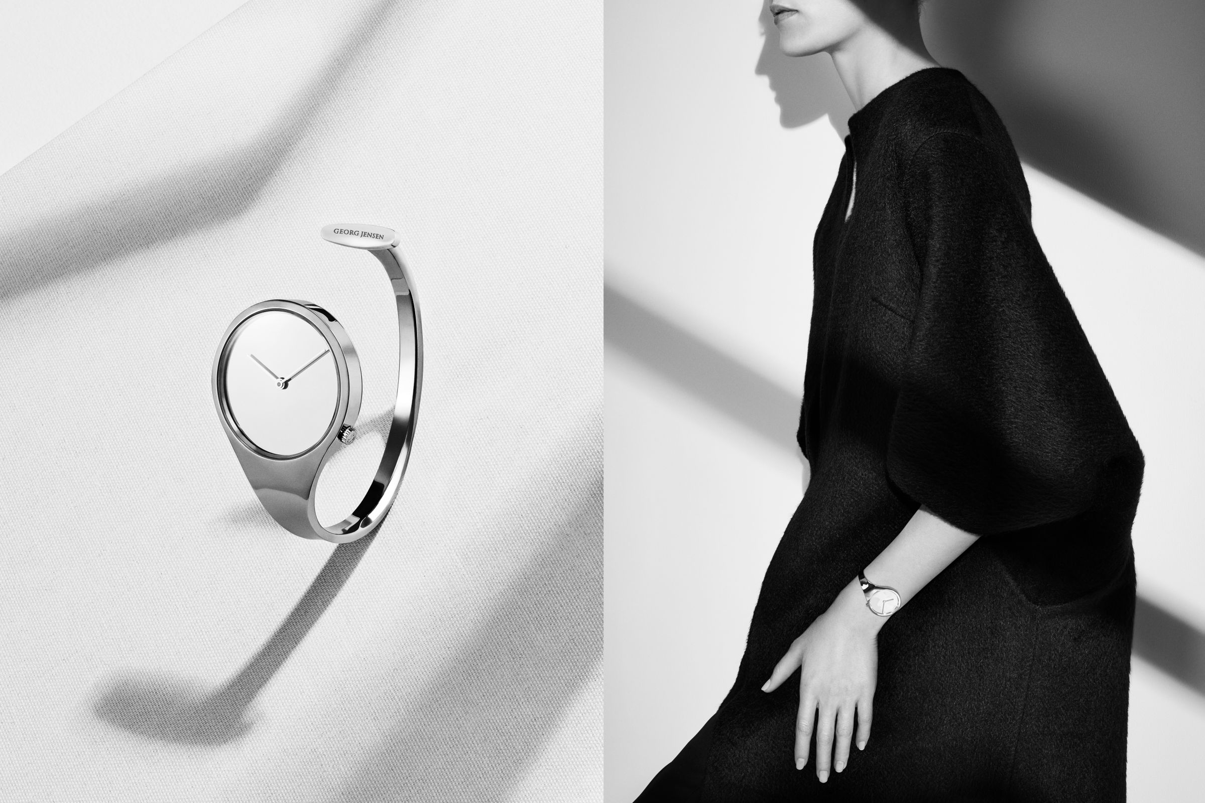 Georg Jensen watches campaign photographed by Hasse Nielsen and Toby McFarlan Pond