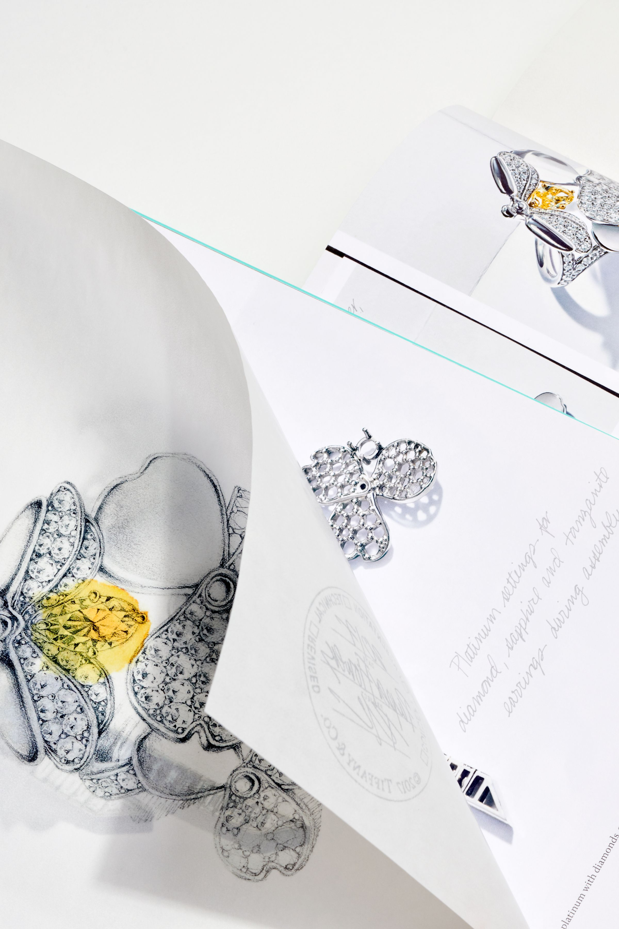 This is Tiffany issue 7 transparent detail