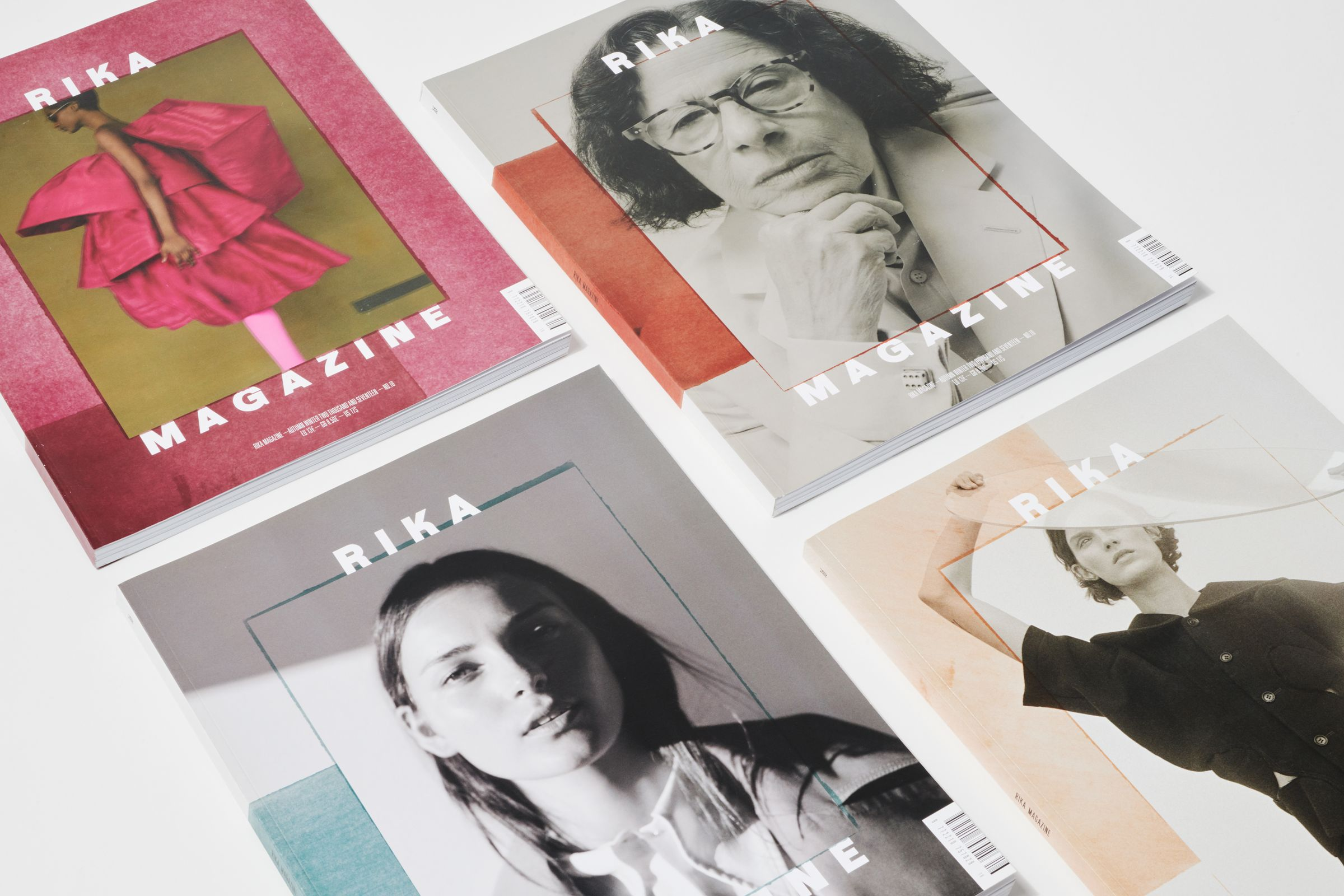 Rika Magazine issue no. 16 covers