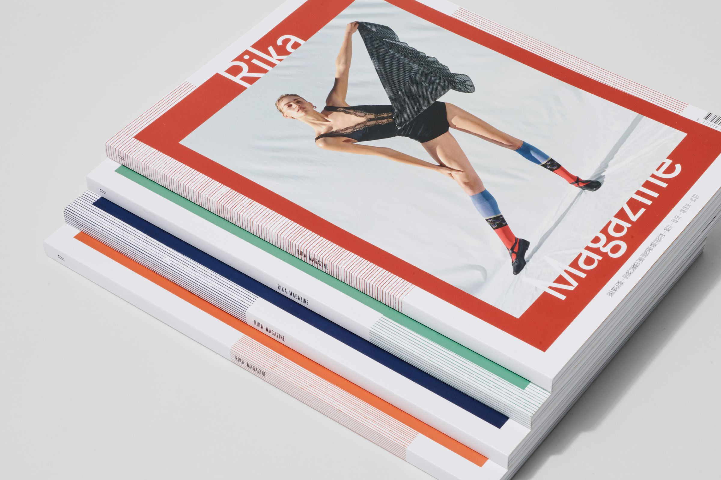 Rika Magazine issue no. 17 cover design