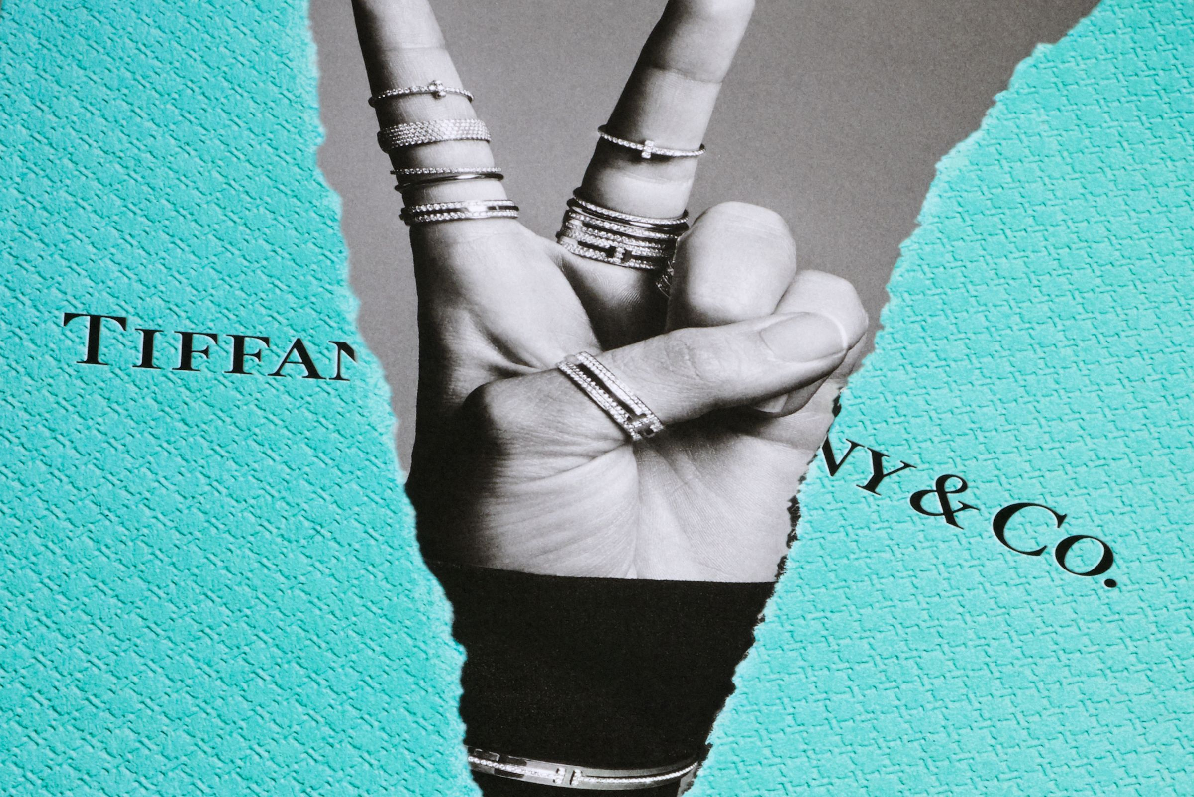 This is Tiffany magazine cover closeup