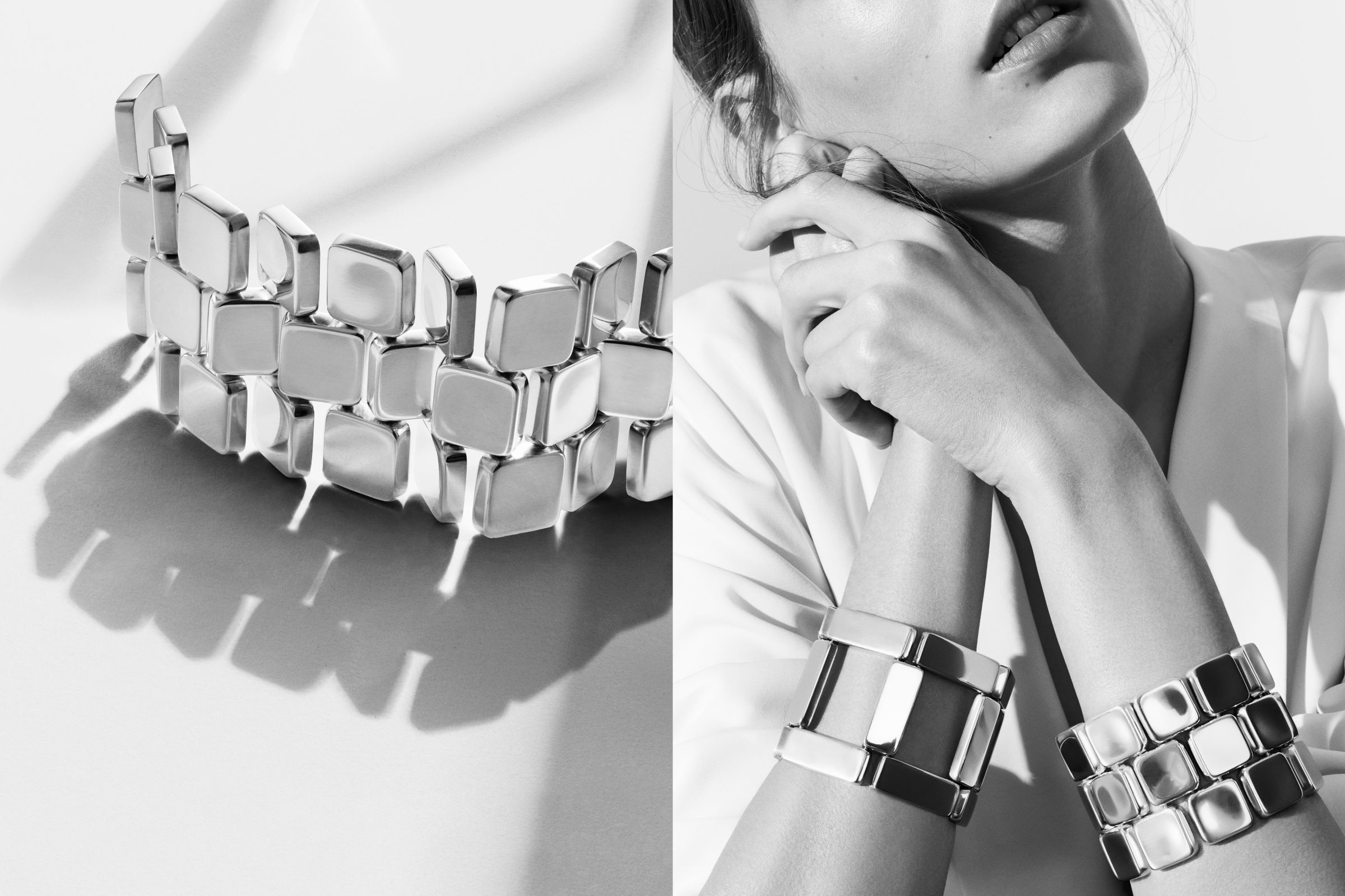 Georg Jensen campaign photographed by Hasse Nielsen and Toby McFarlan Pond