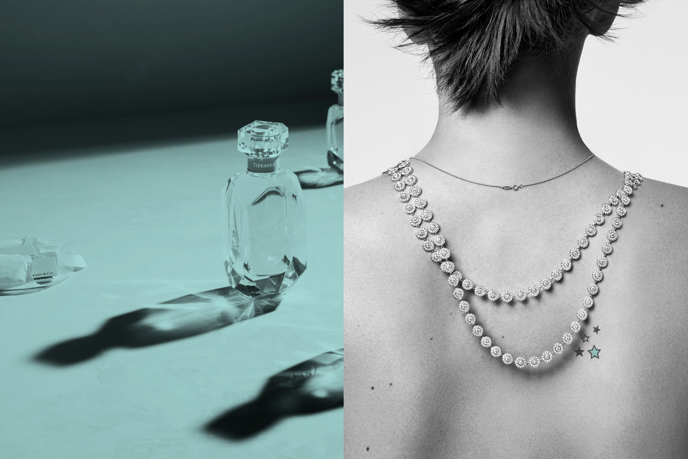 This is Tiffany magazine Issue 6 fragrance story art direction