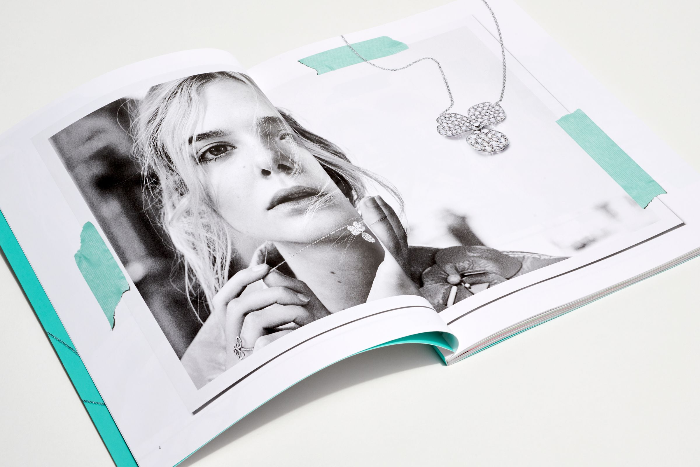 This is Tiffany magazine Issue 7 Elle Fanning spread layout