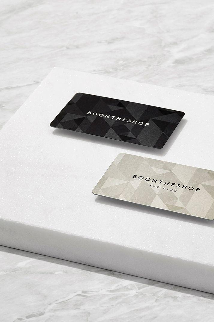 BOONTHESHOP VIP card design