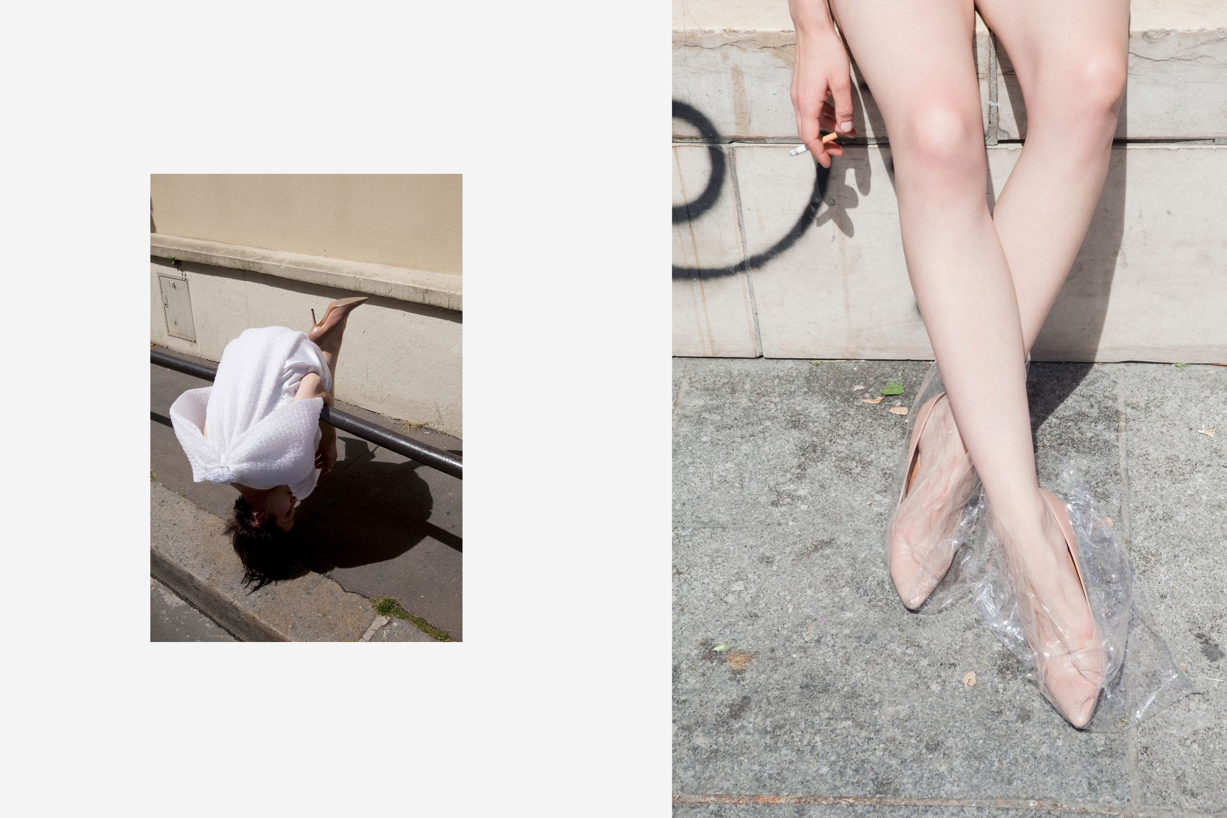Rika Magazine issue no. 15 Roxane Danset photographed by Viviane Sassen