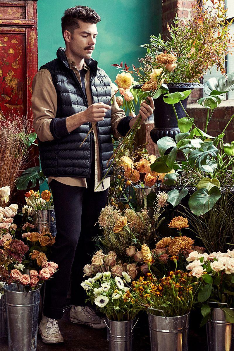 Uniqlo real people art direction florist