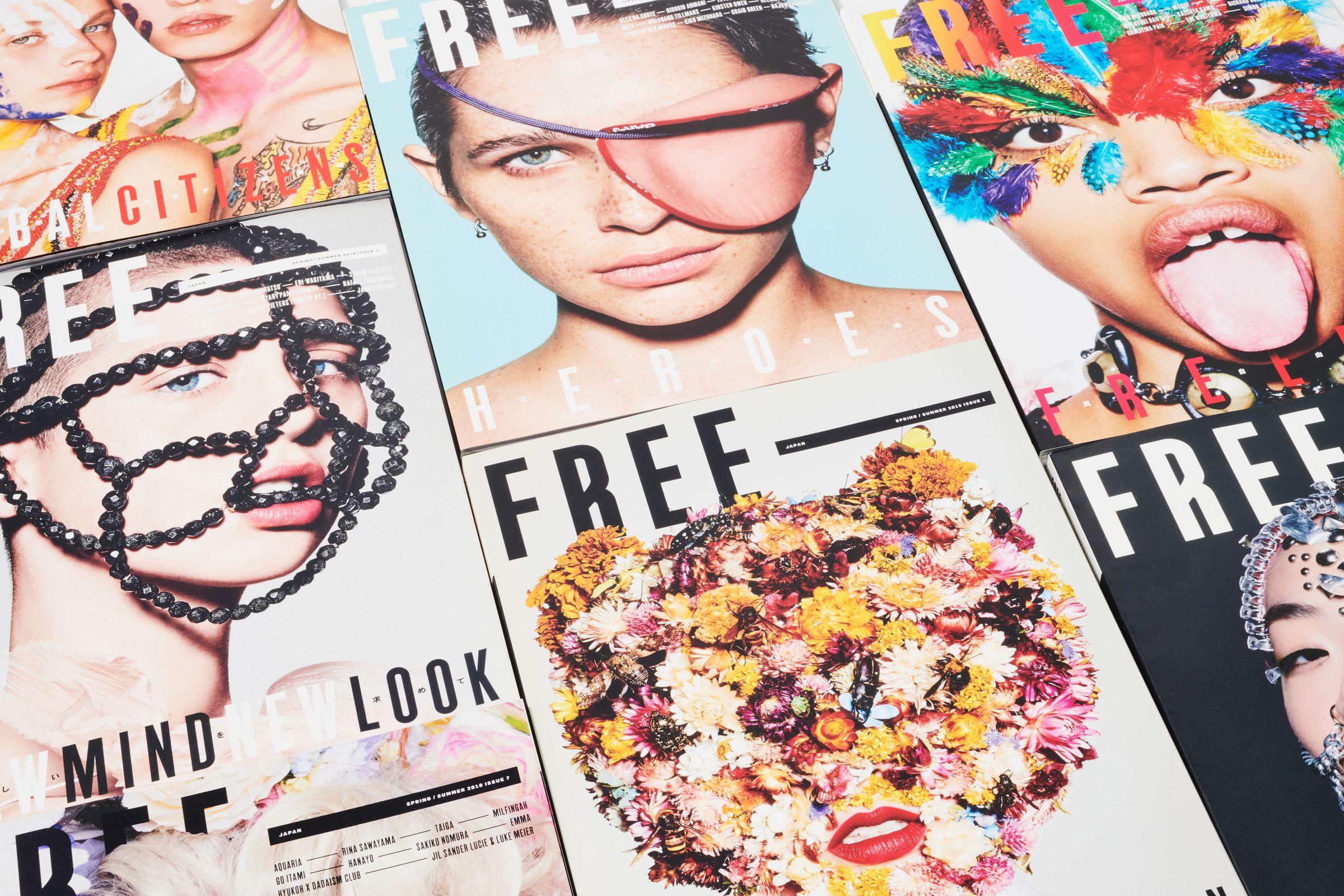 FREE Magazine covers