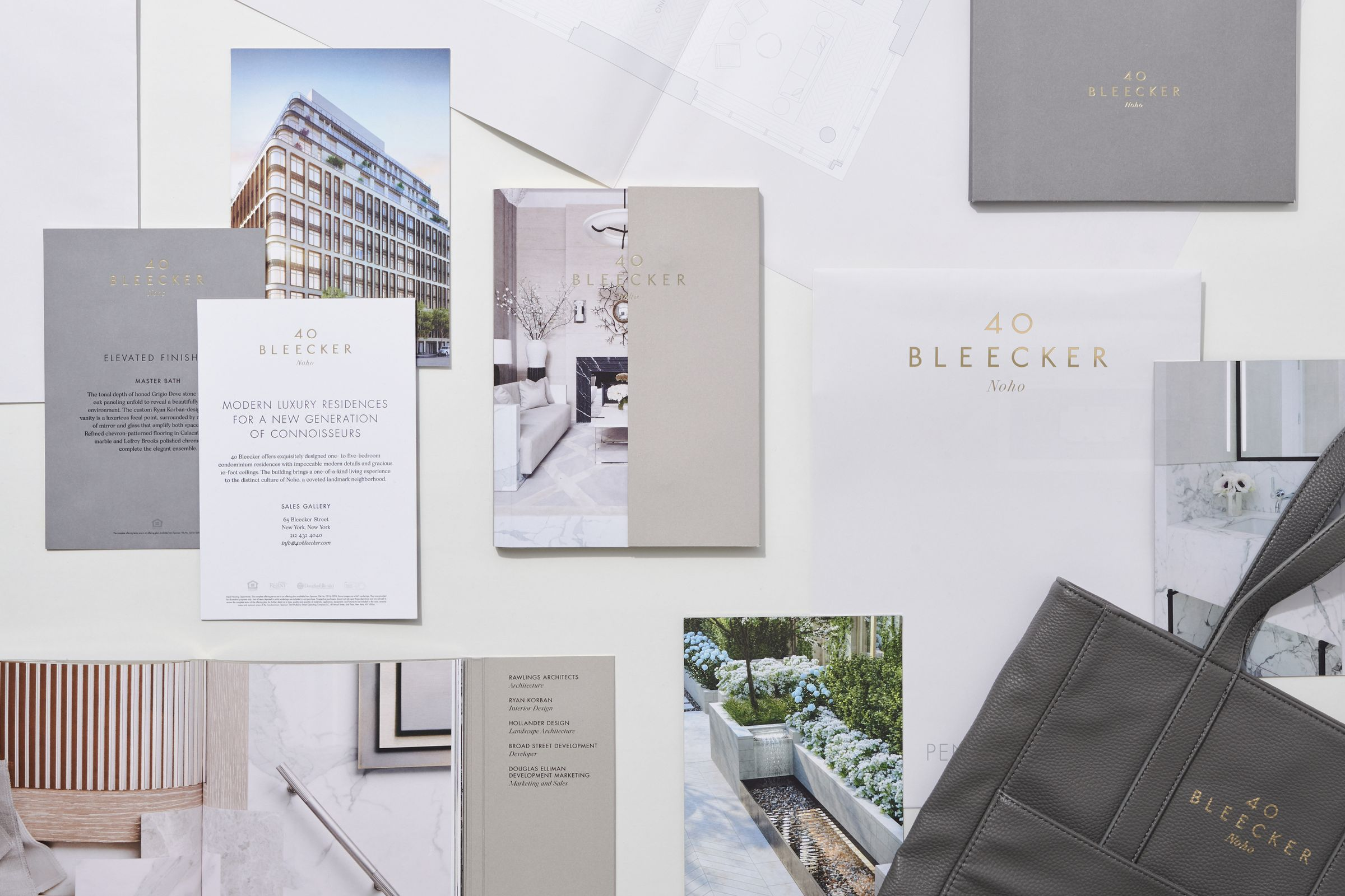 40 Bleecker marketing collateral overview