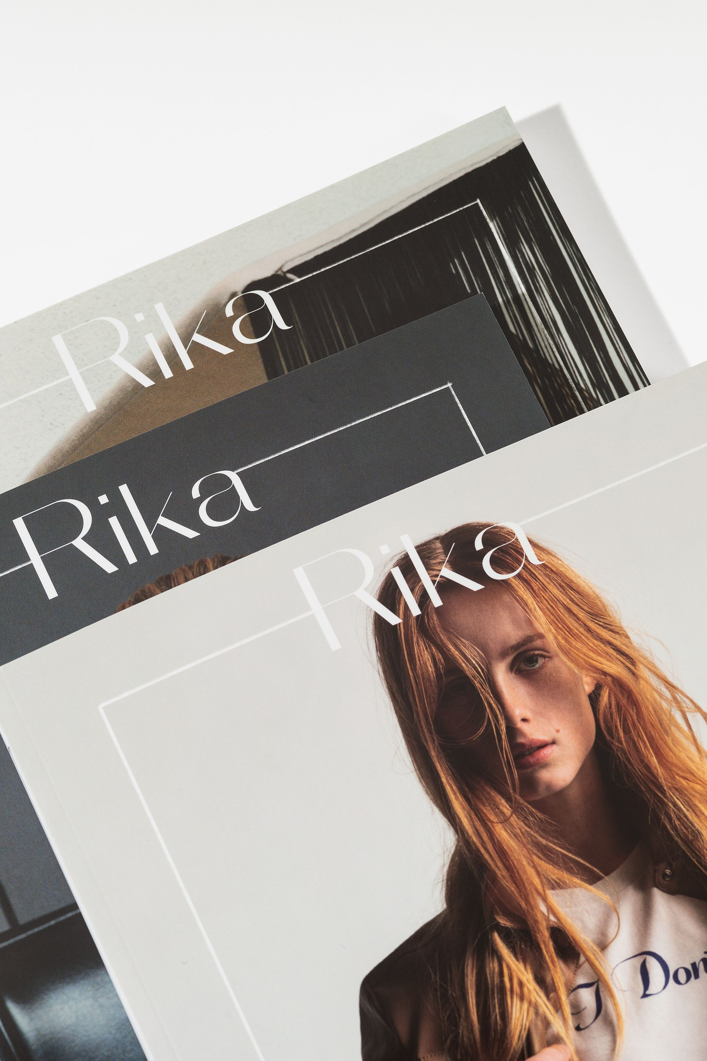 Rika Magazine issue no. 20 covers