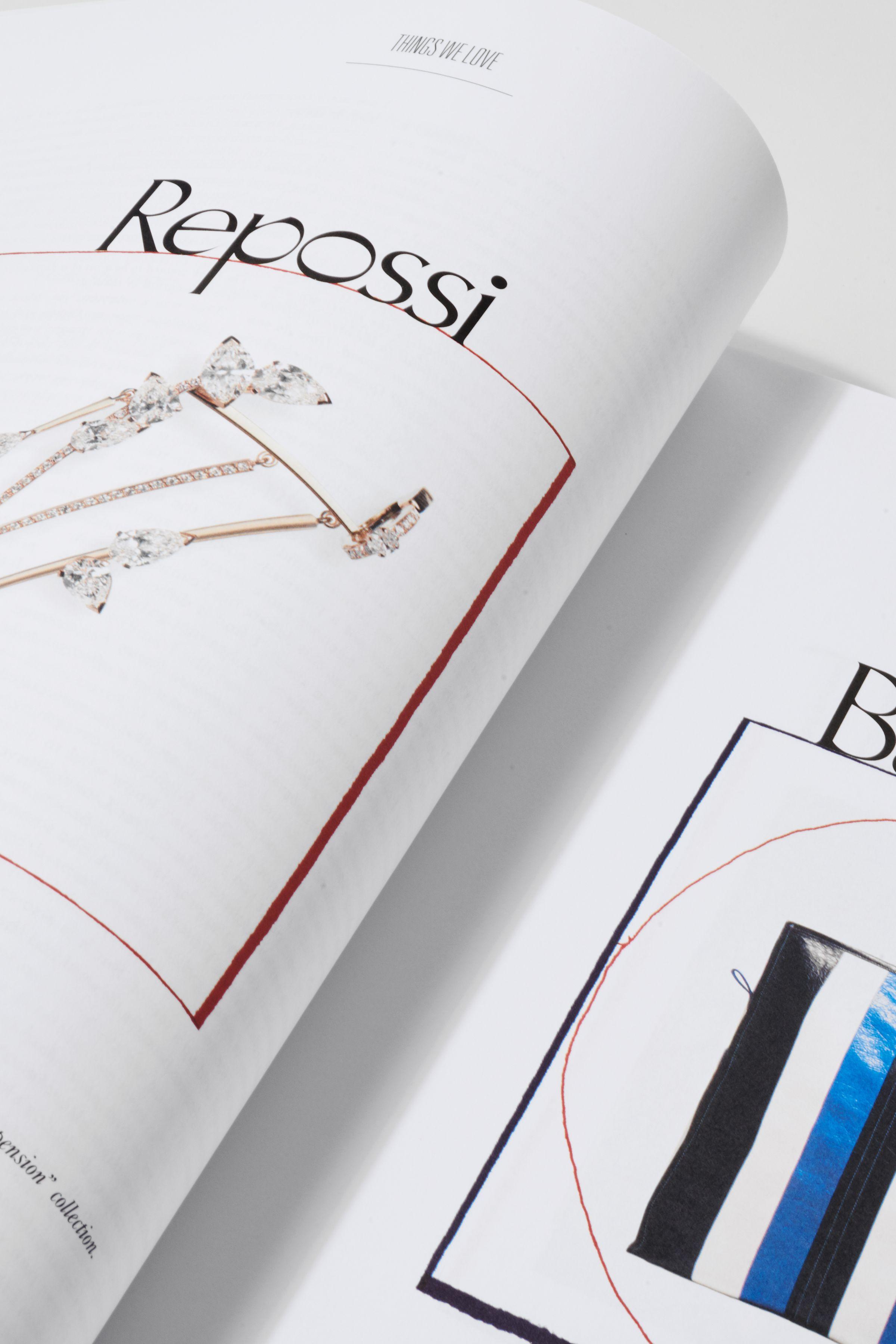 Rika Magazine issue no. 15 design detail