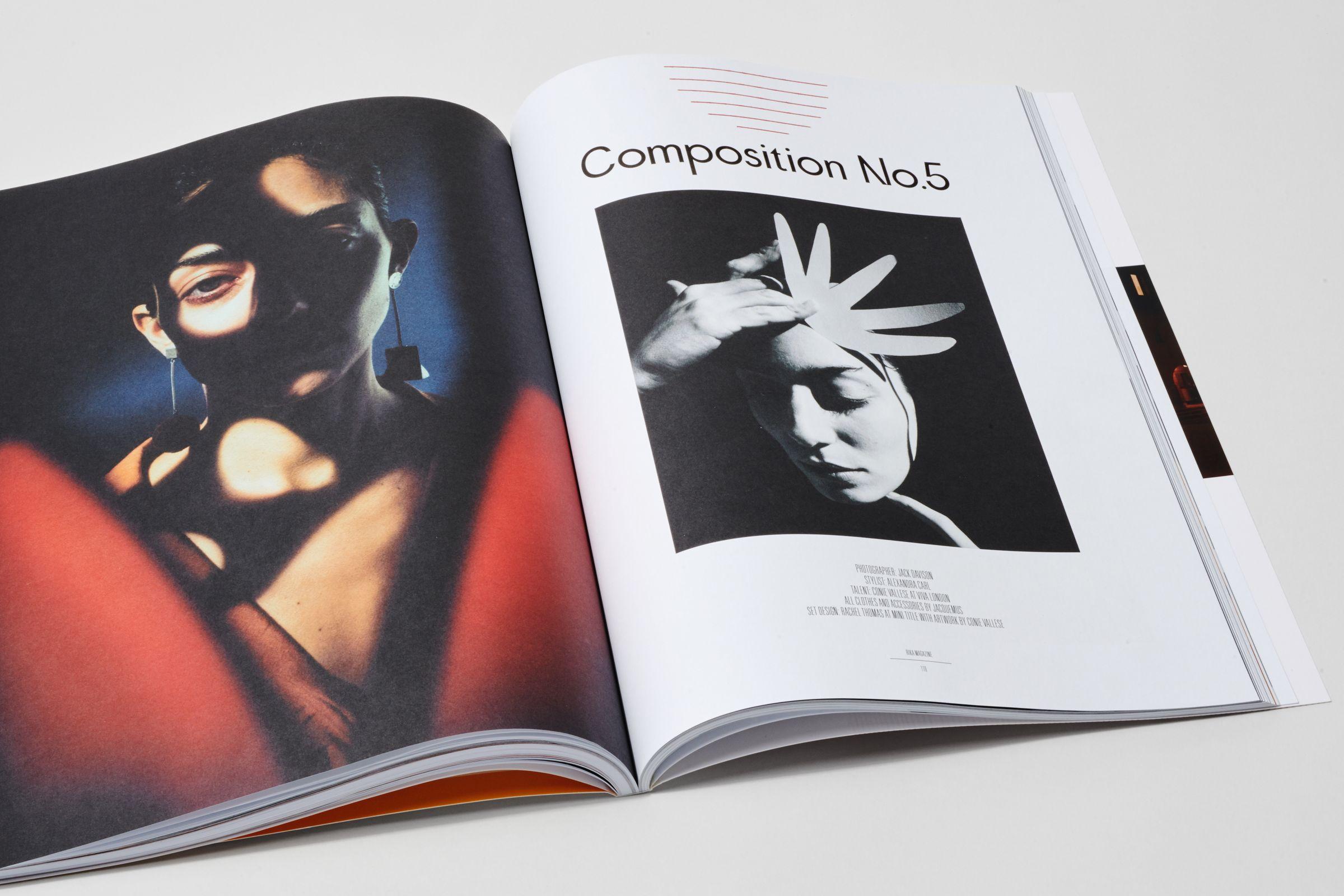 Rika Magazine issue no. 17 Conie Valese by Jack Davidson